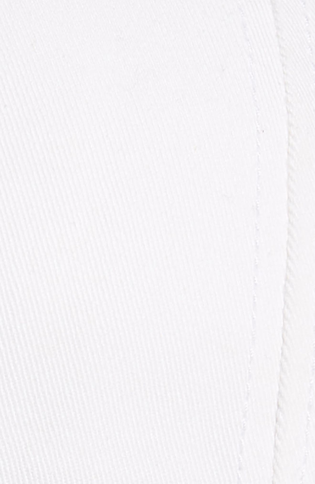 Yin/Yang Moonphase Needlepoint Baseball Cap,                             Alternate thumbnail 3, color,                             WHITE