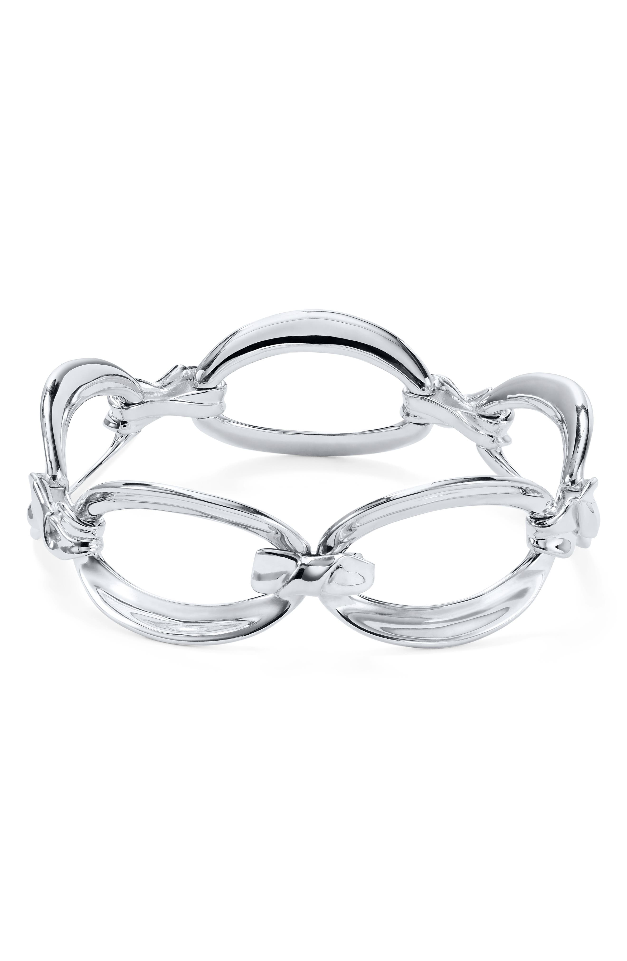 IPPOLITA Classico Sterling Silver Flexible Twisted Ribbon Bracelet