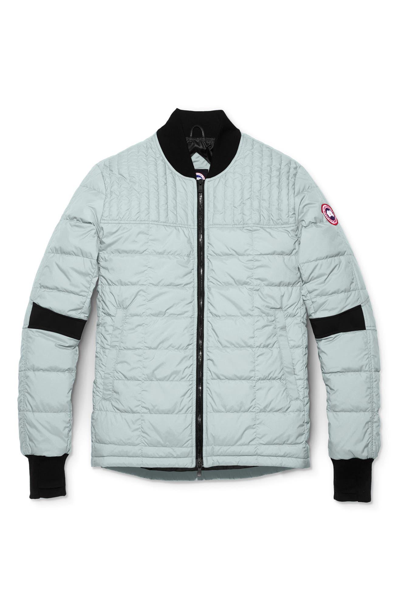 Canada Goose Dunham Slim Fit Packable Down Jacket, Grey