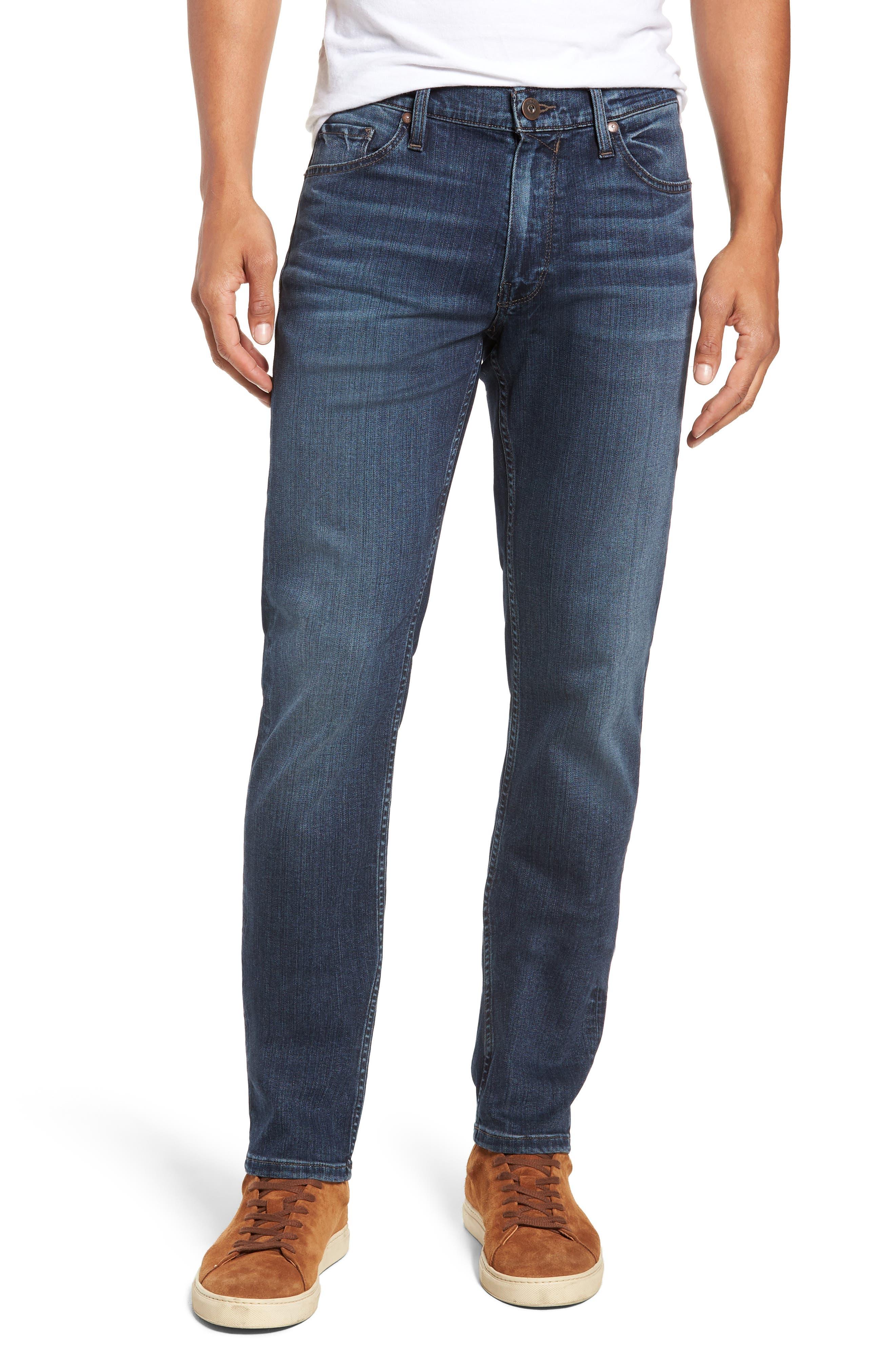 Transcend - Lennox Slim Fit Jeans,                             Main thumbnail 1, color,                             400