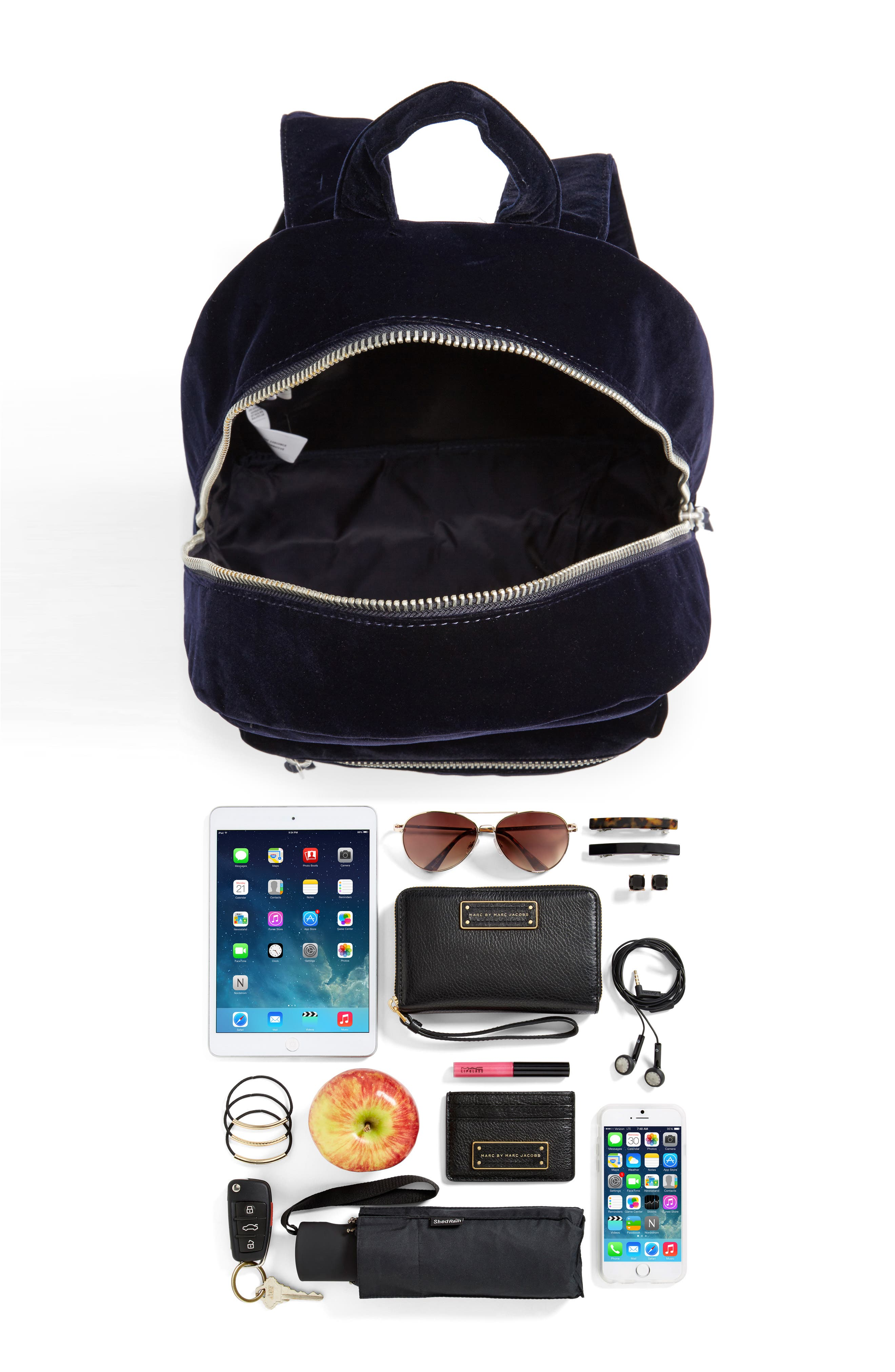 X-Small Velvet Grove Backpack,                             Alternate thumbnail 7, color,                             400