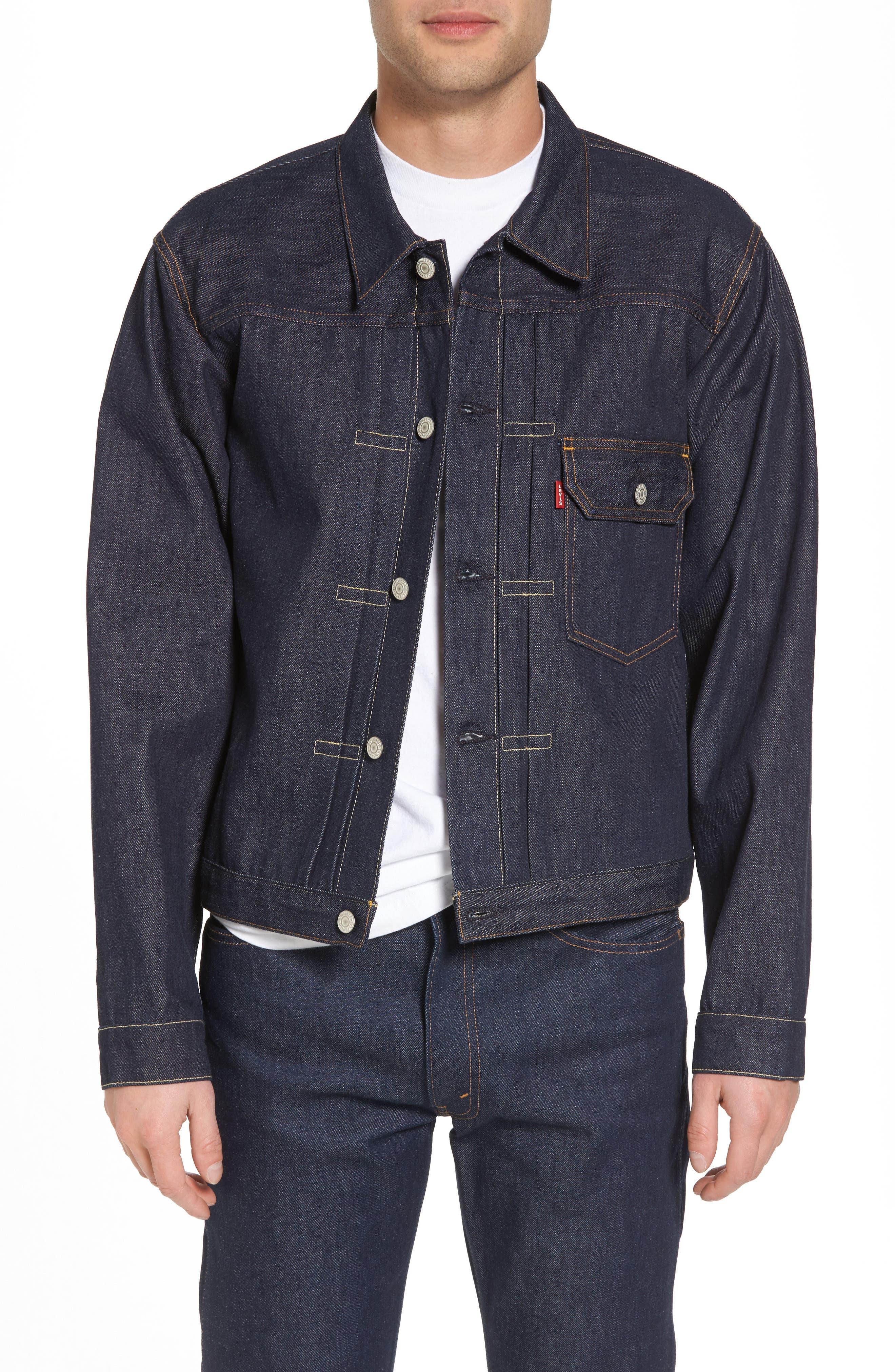 1936 Type I Denim Jacket,                         Main,                         color, 499