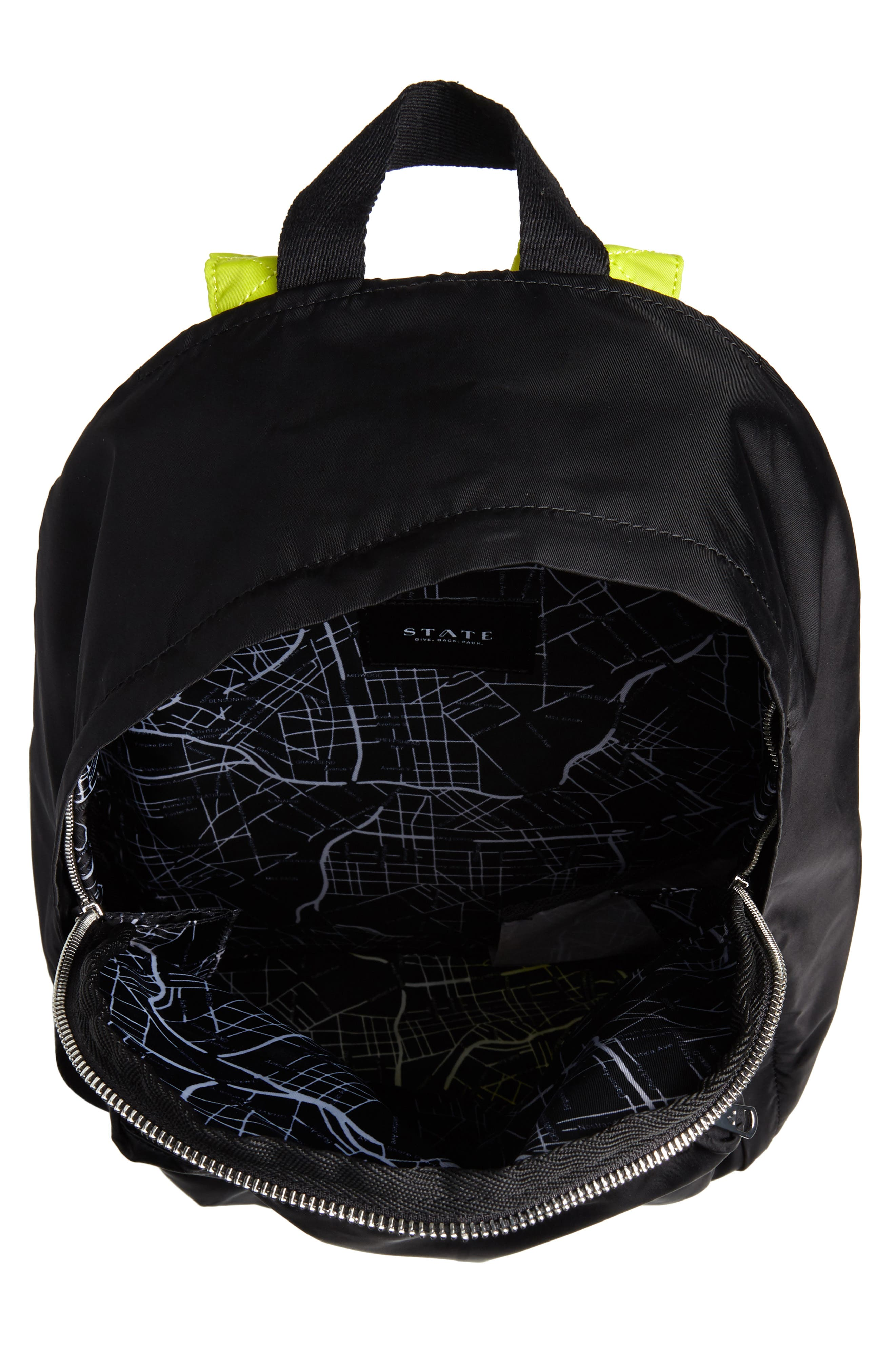 The Heights Lorimer Backpack,                             Alternate thumbnail 4, color,                             BLACK MULTI