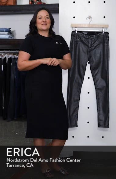 'The Legging' Coated Ankle Jeans, sales video thumbnail