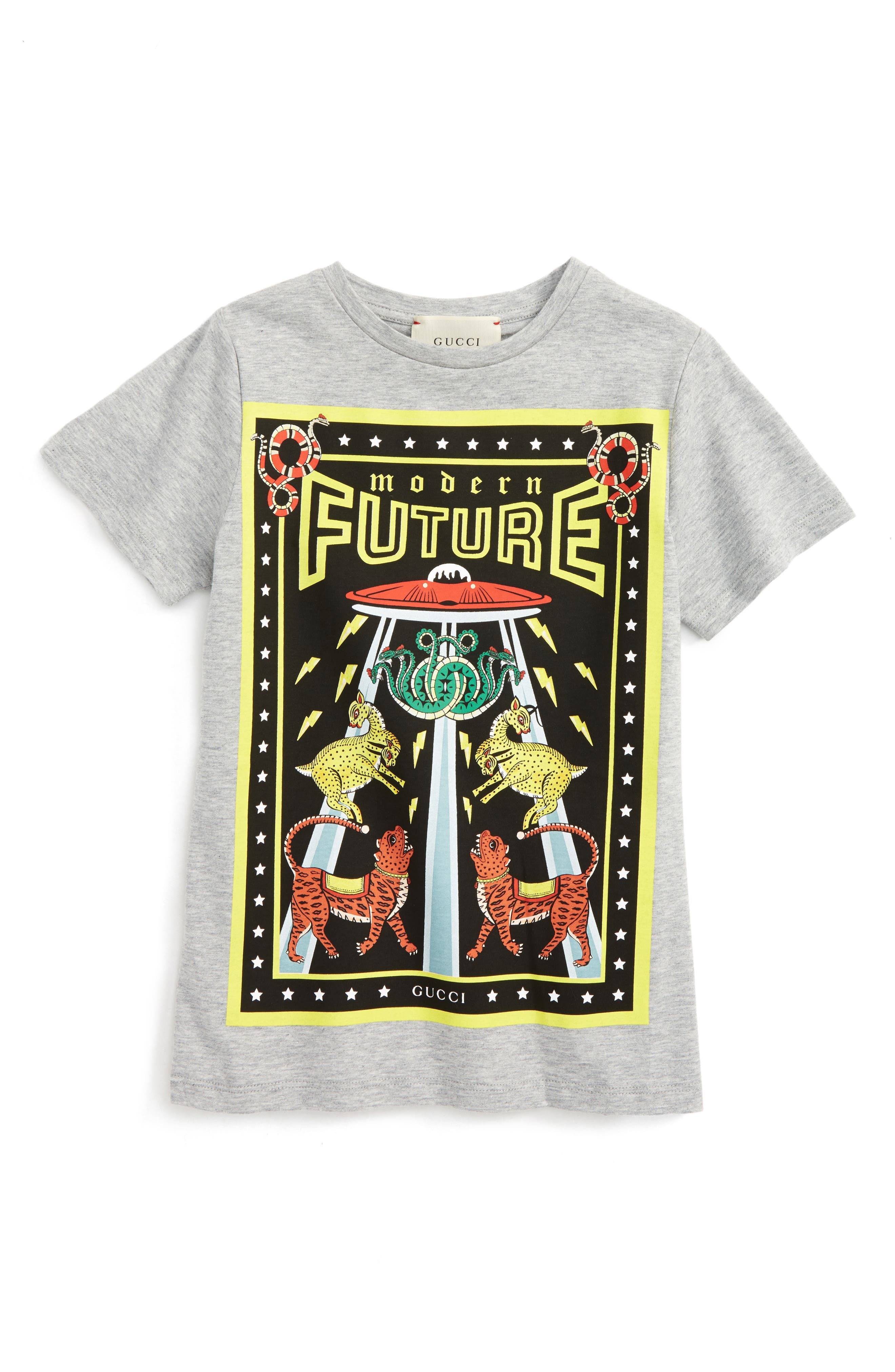 Modern Future Graphic Print T-Shirt, Main, color, 052
