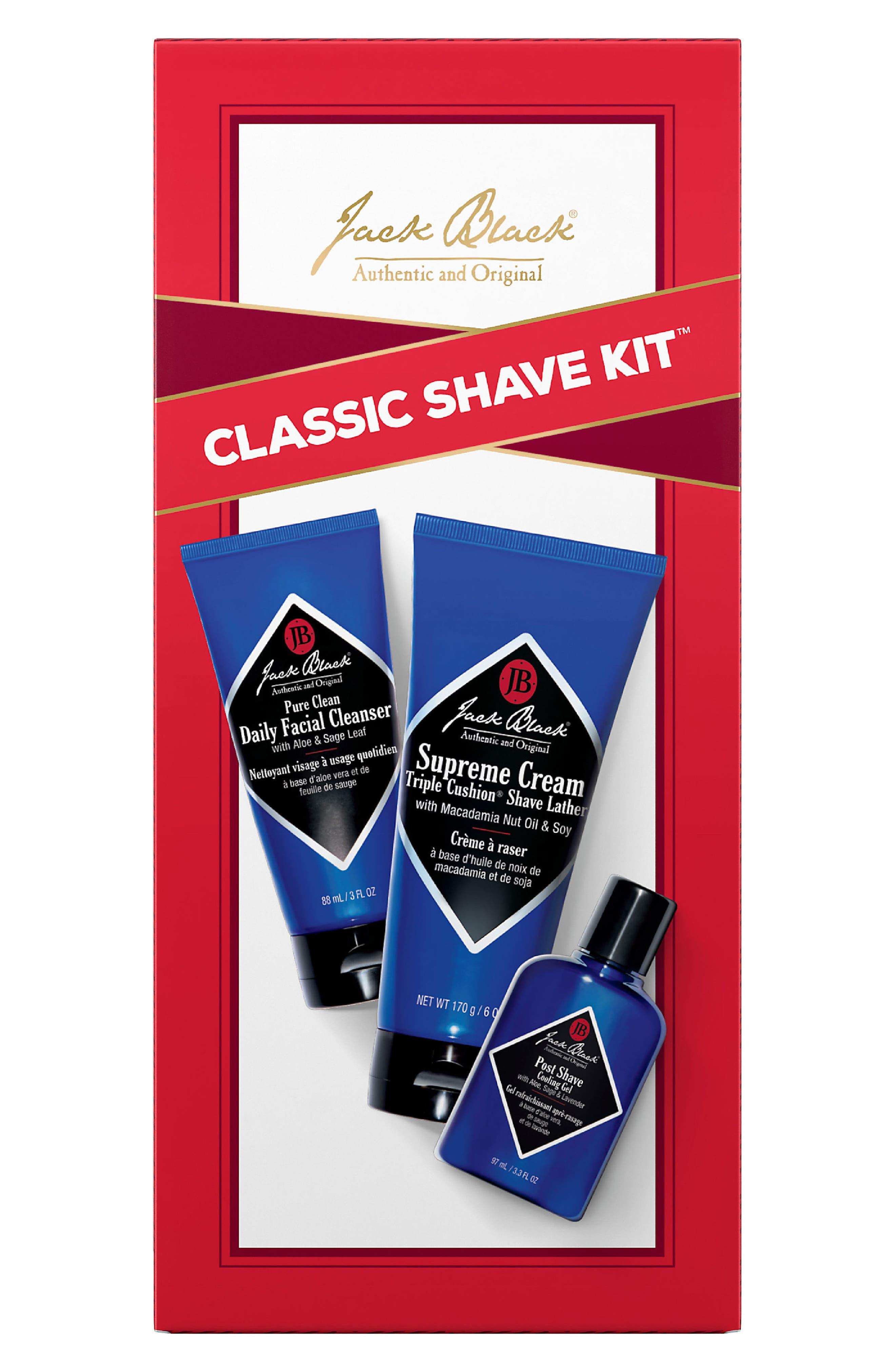 Classic Shave Kit,                             Alternate thumbnail 2, color,                             000