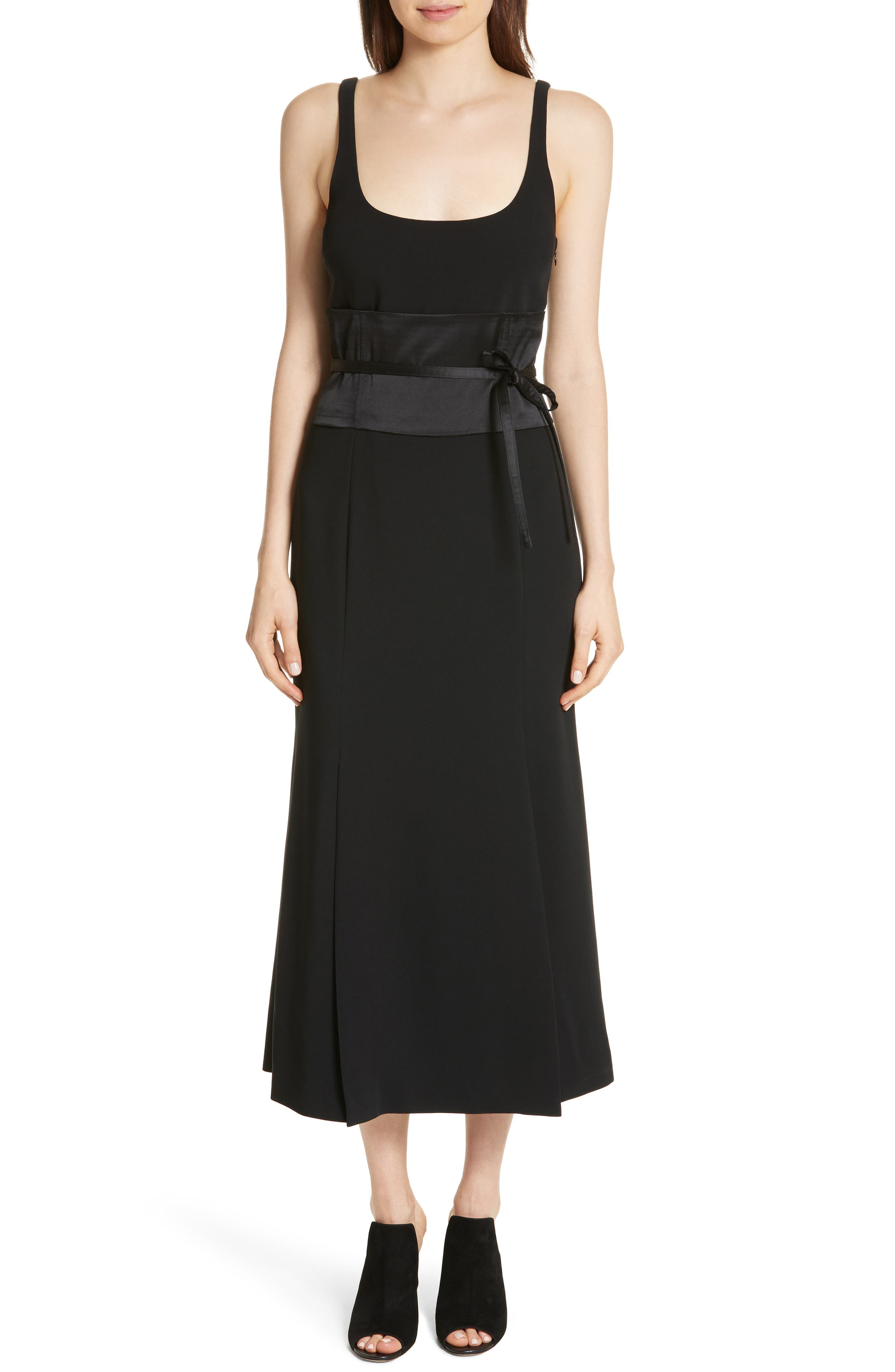 Yvonne Midi Dress,                         Main,                         color, 001