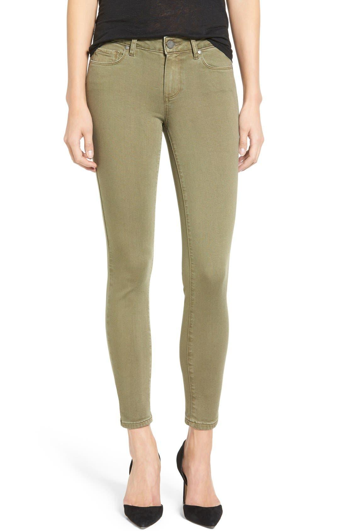 Transcend - Verdugo Ankle Skinny Jeans,                         Main,                         color, 300