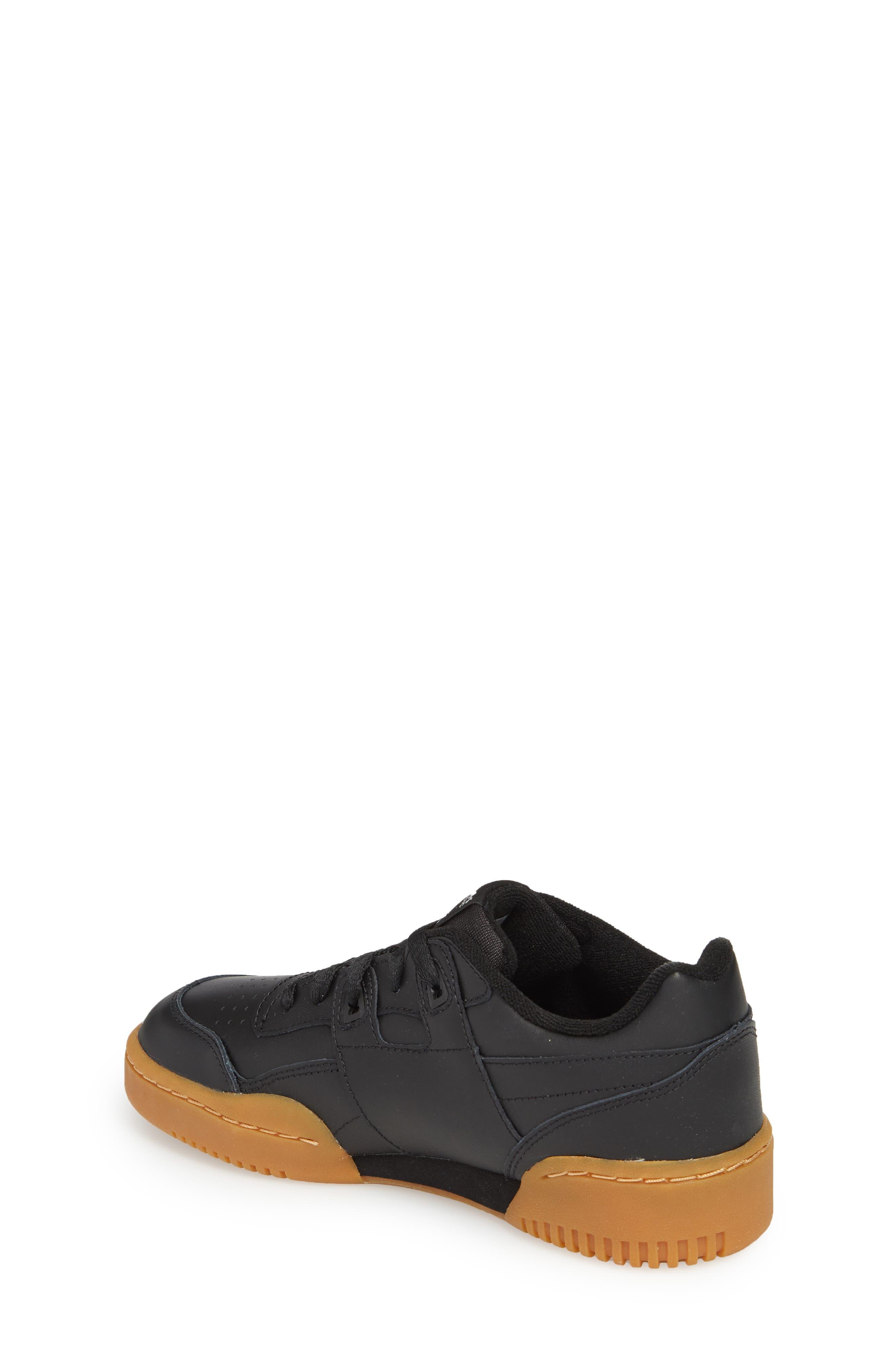 Workout Plus Sneaker,                             Alternate thumbnail 2, color,                             BLACK