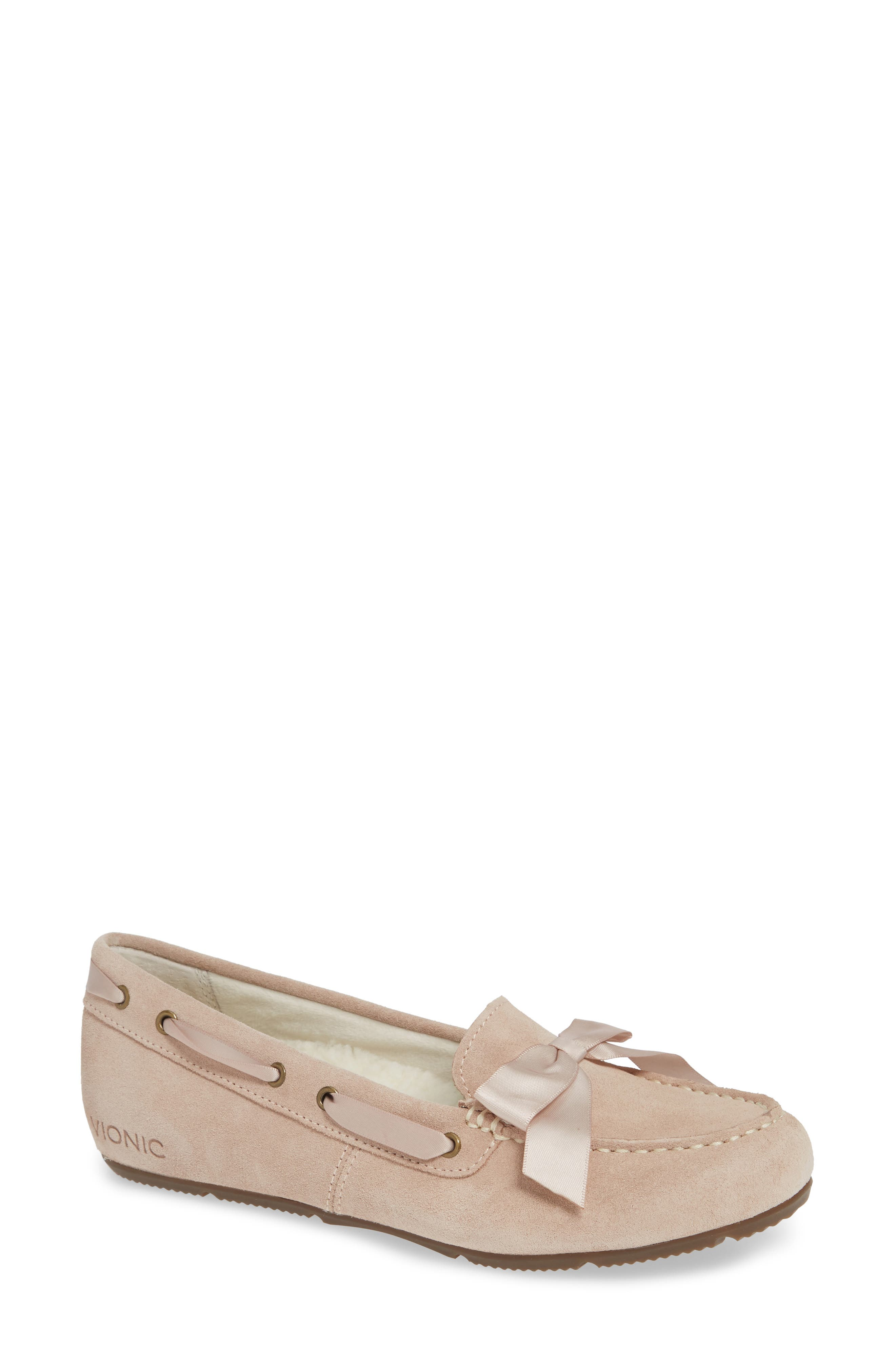 Alice Moccasin,                             Main thumbnail 1, color,                             NUDE SUEDE
