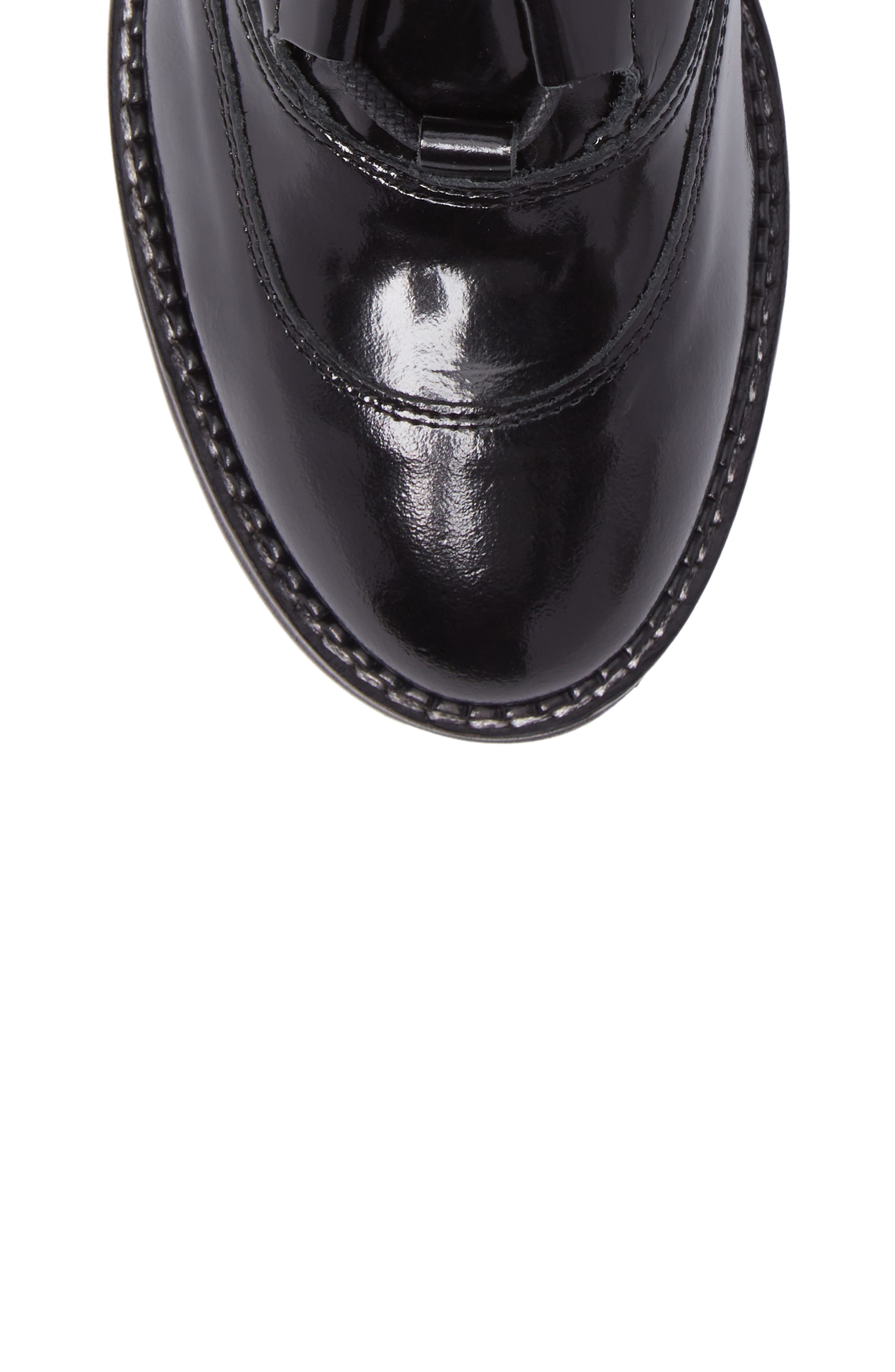 Braxton Moto Boot,                             Alternate thumbnail 5, color,                             002