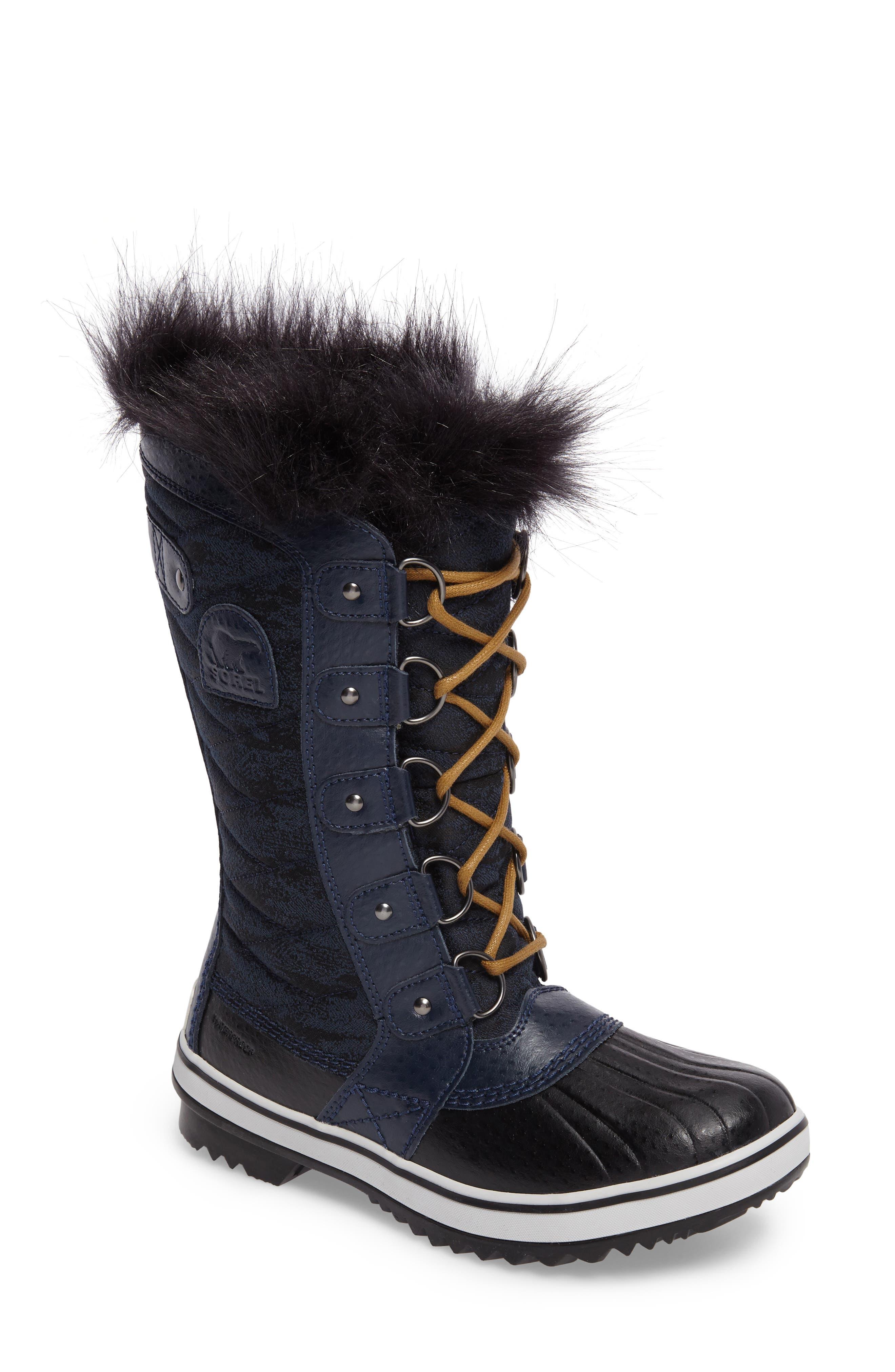 Tofino II Fleece Lined Waterproof Boot,                             Main thumbnail 1, color,