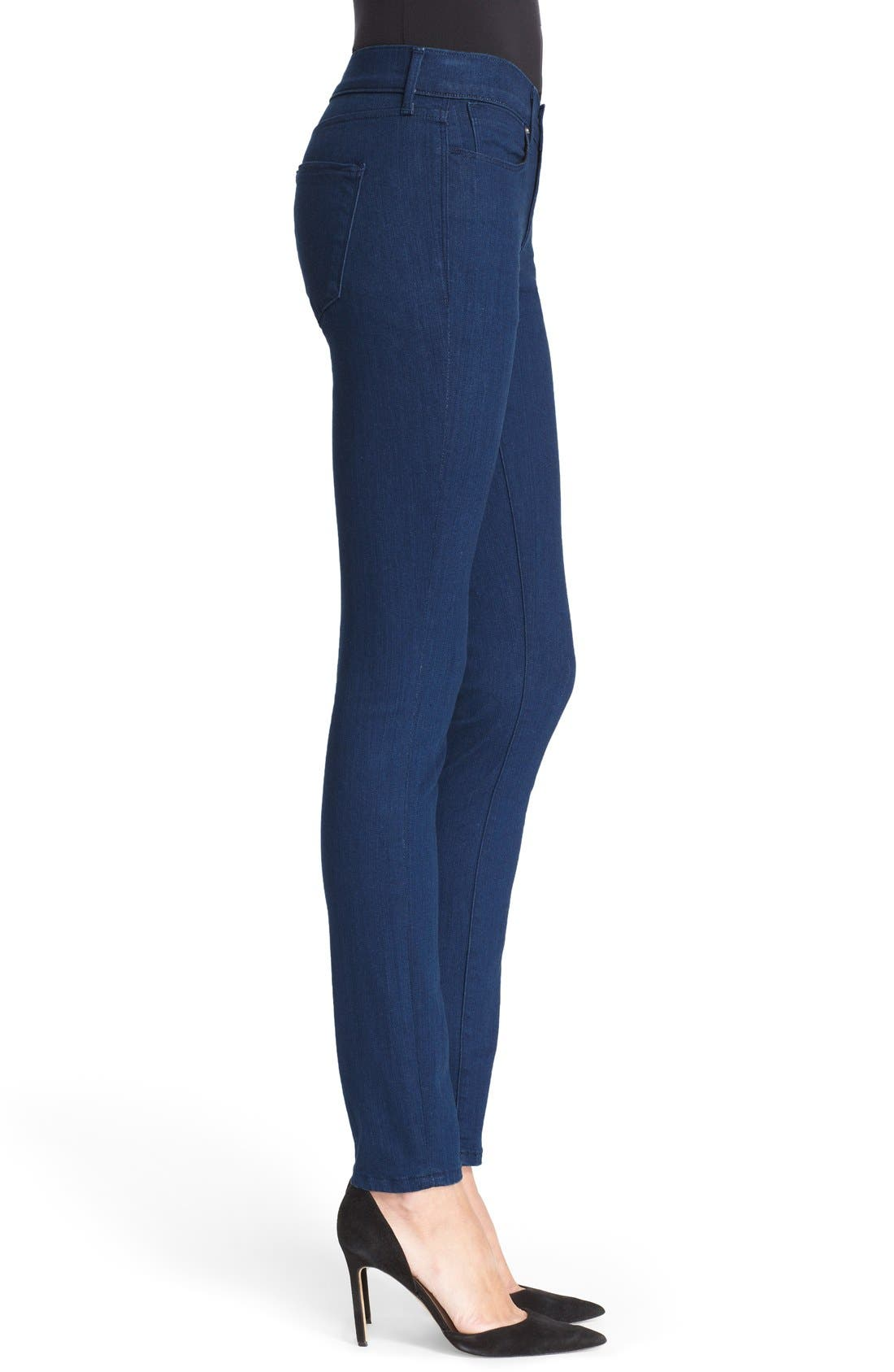'The Skinny' Stretch Jeans,                             Alternate thumbnail 3, color,                             400