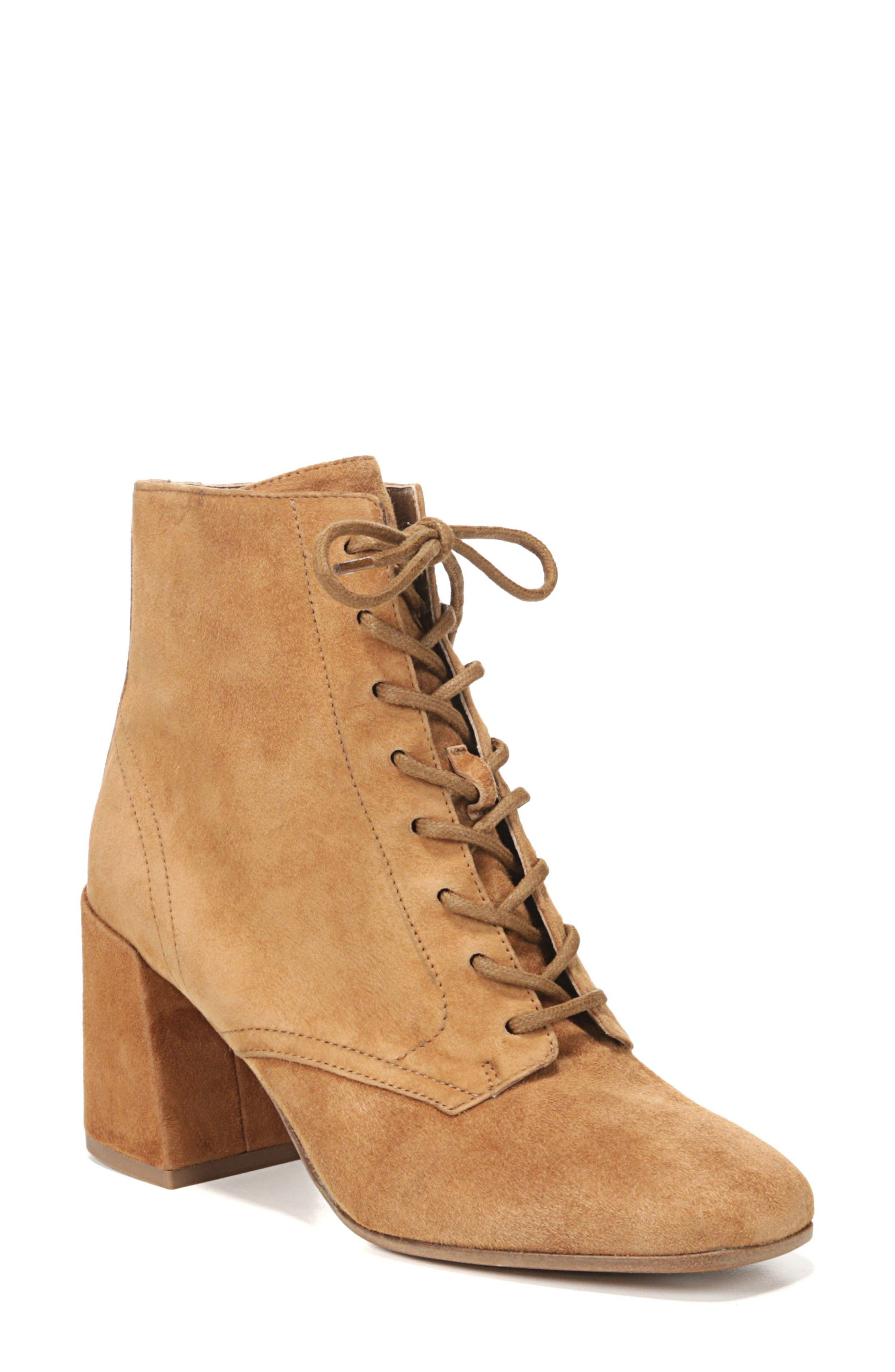 Halle Flare Heel Bootie,                             Main thumbnail 2, color,