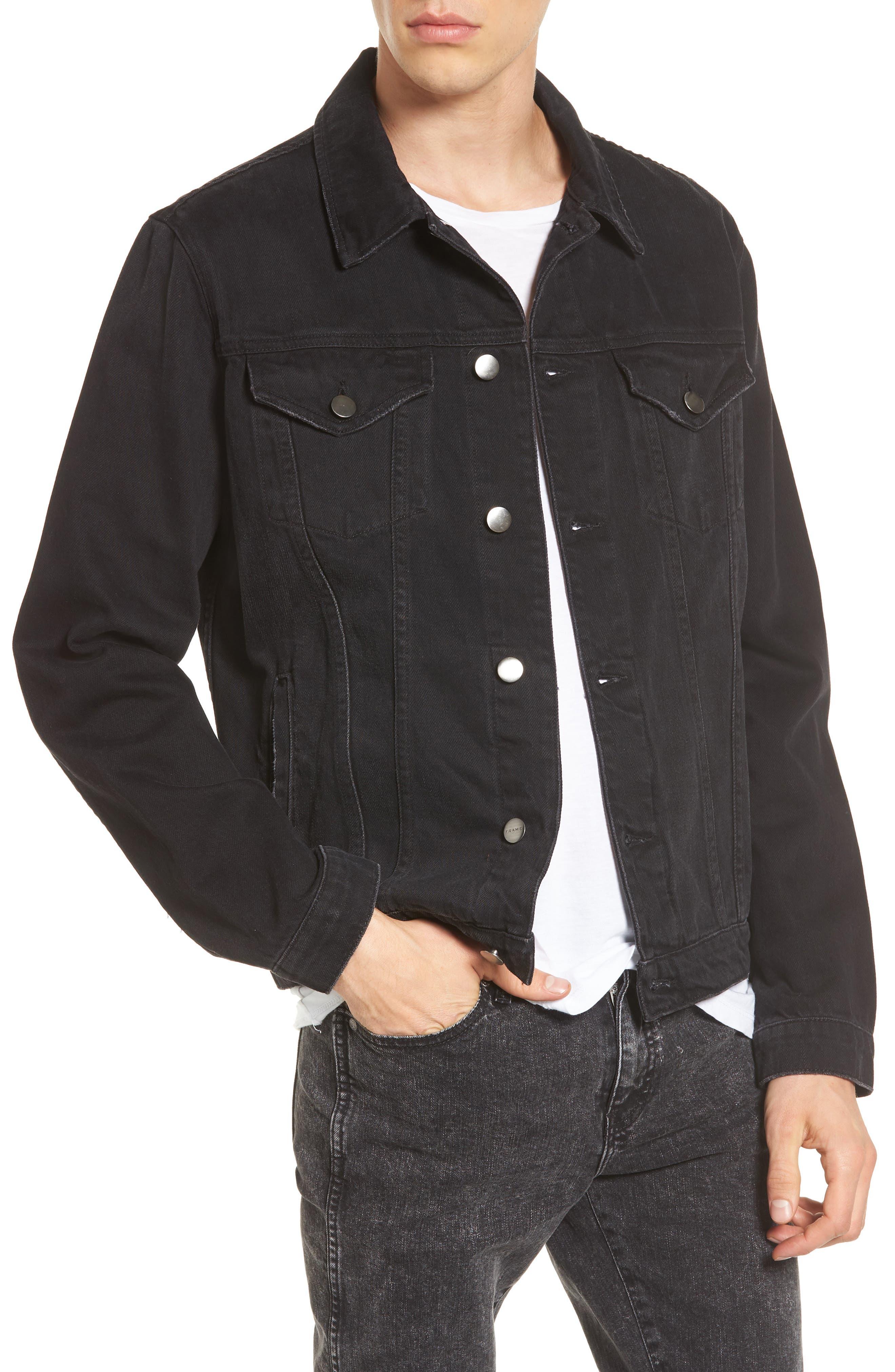 L'Homme Denim Jacket, Main, color, 001