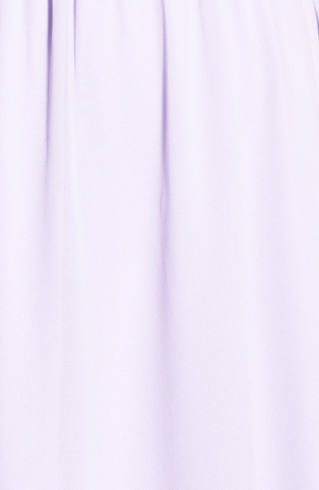 Blouson Chiffon Skater Dress,                             Alternate thumbnail 219, color,