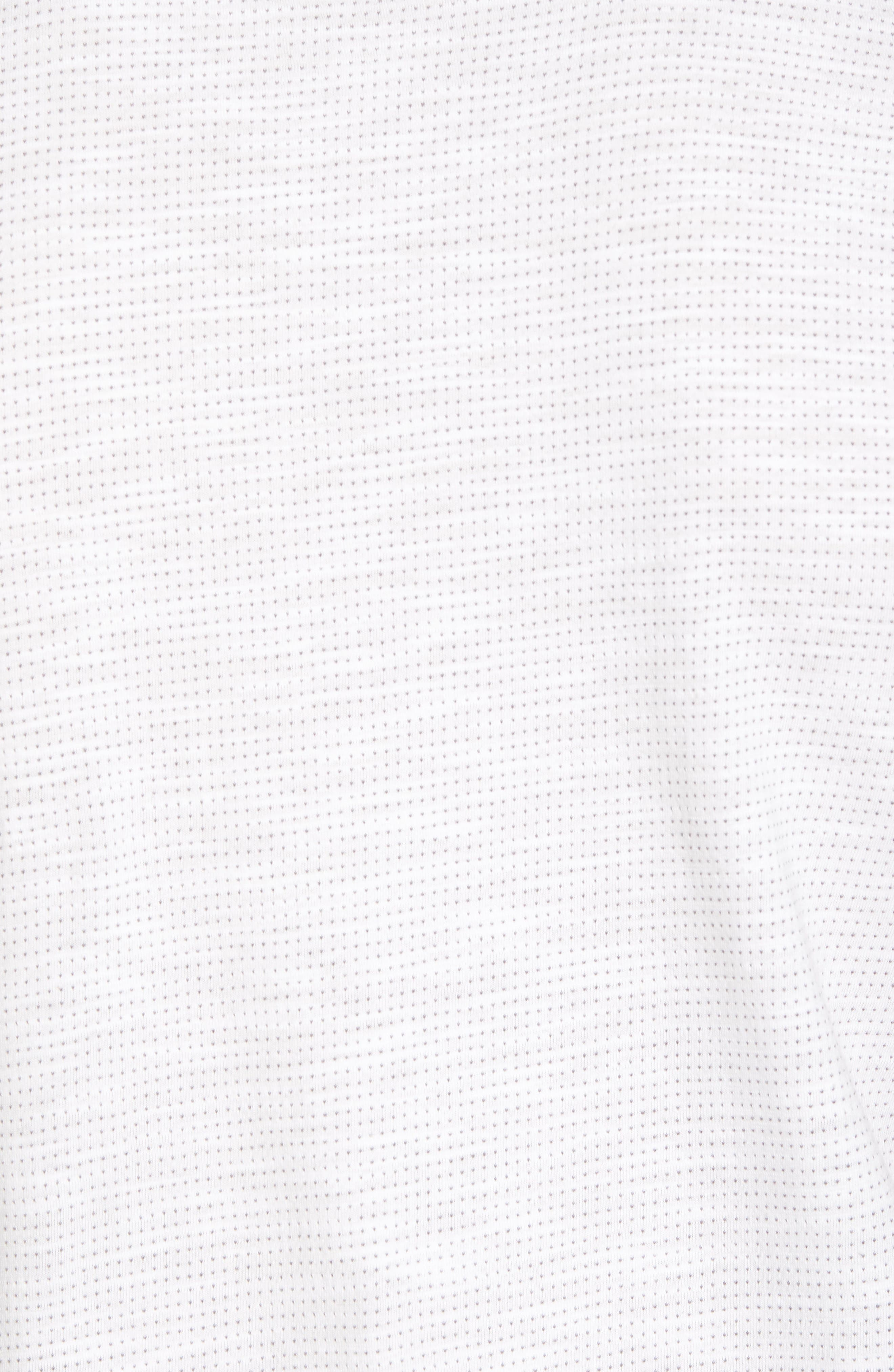 Slub Jacquard T-Shirt,                             Alternate thumbnail 5, color,                             111