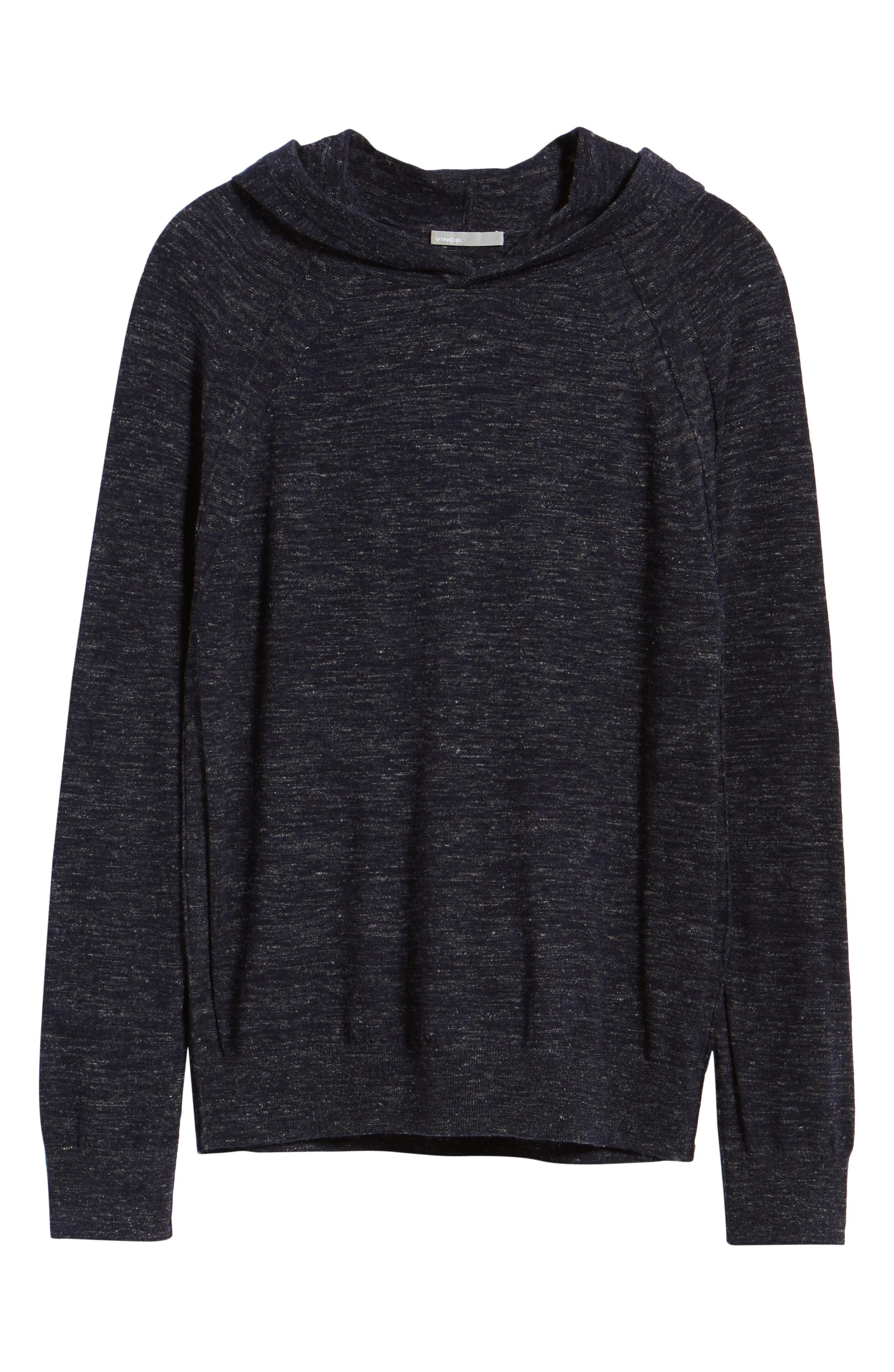 Long Sleeve Pullover Hoodie,                             Alternate thumbnail 6, color,                             NEW COASTAL