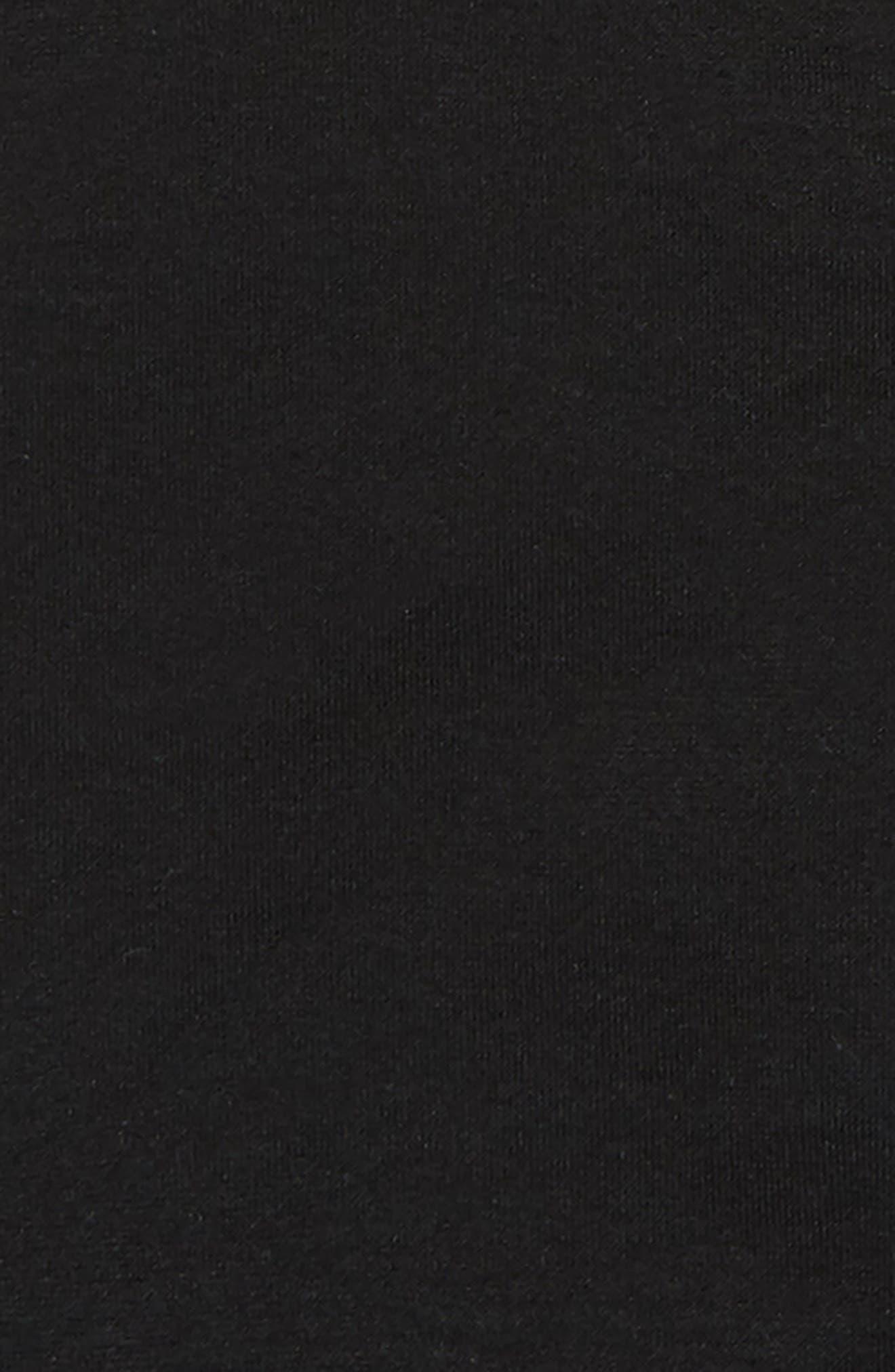 Seamless Crisscross Bralette,                             Alternate thumbnail 2, color,                             BLACK