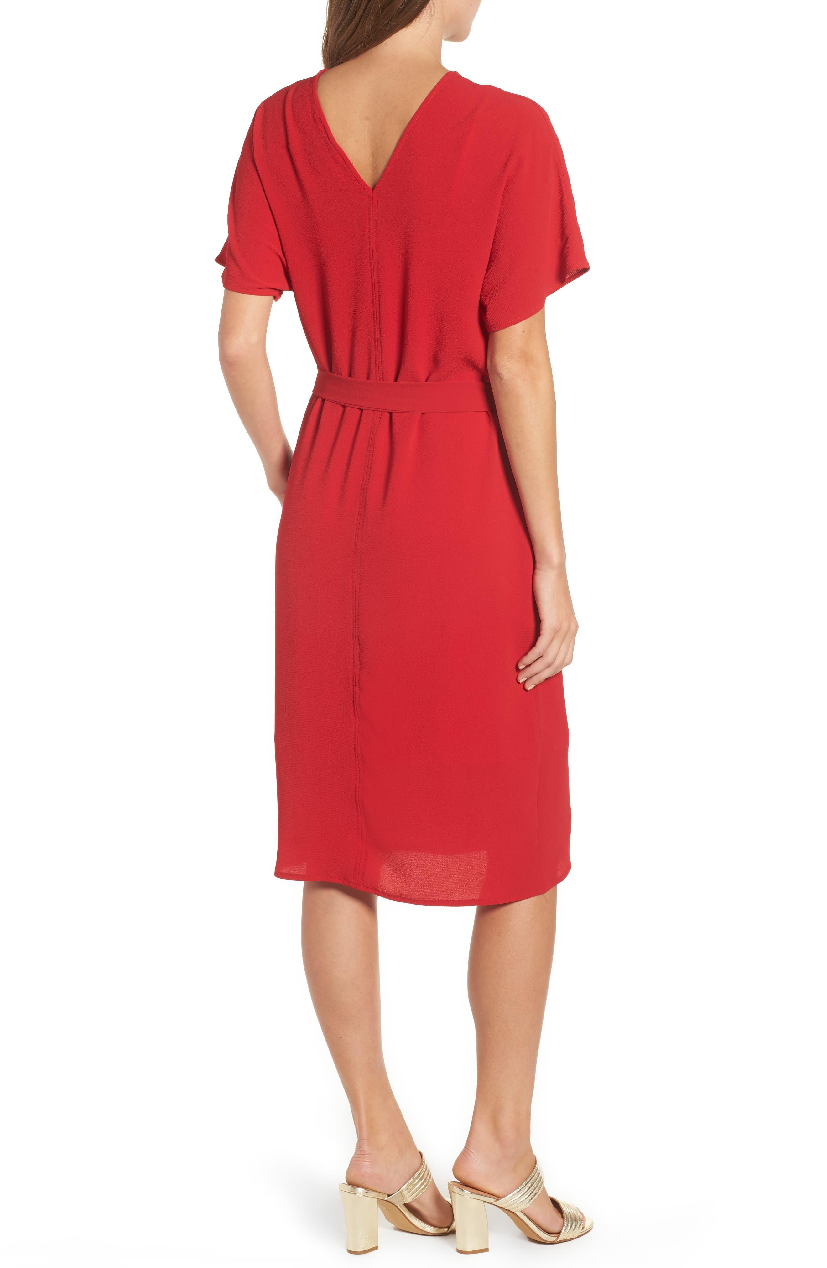 Stretch Crepe Dress,                             Alternate thumbnail 10, color,