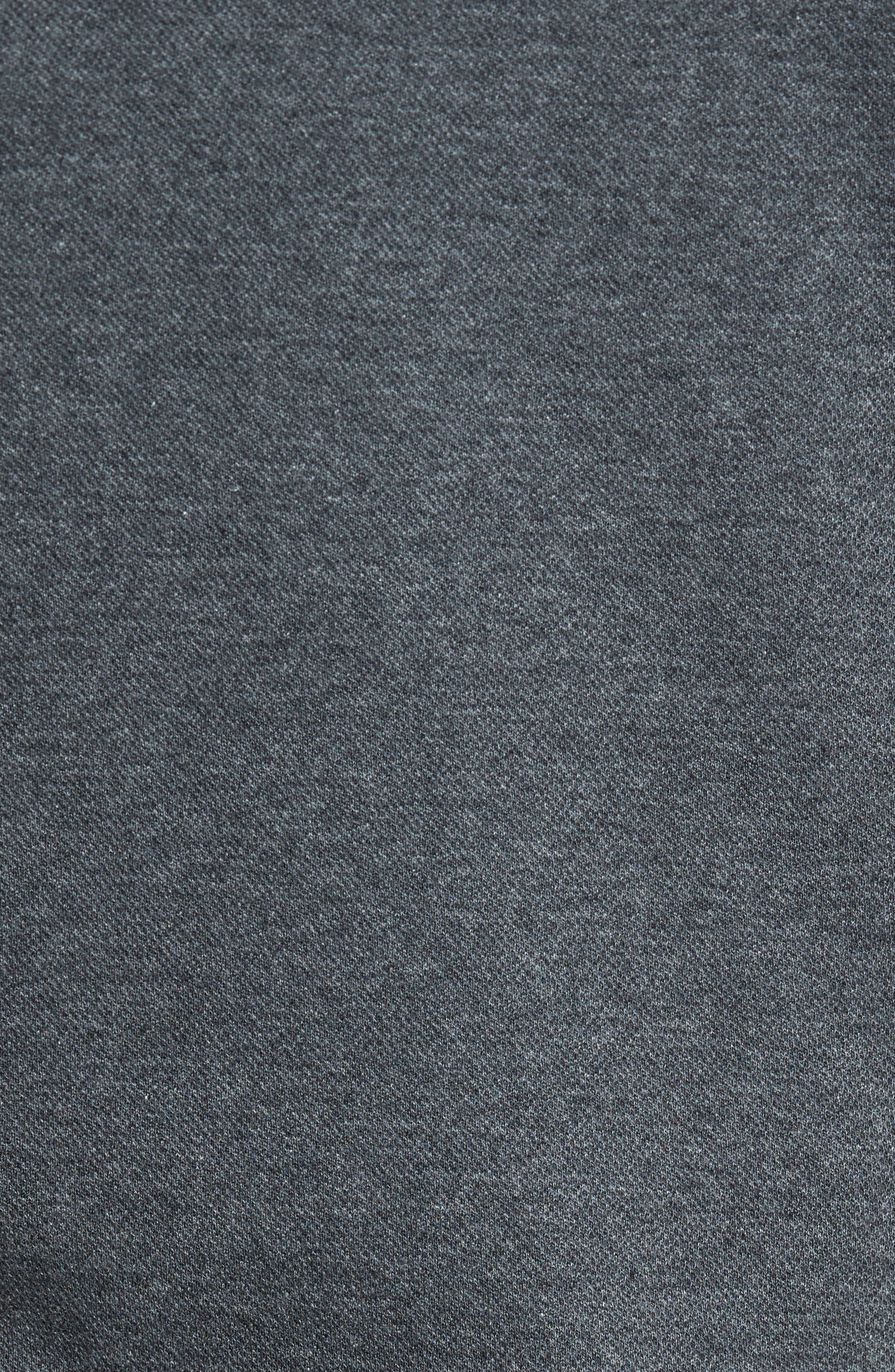 Mélange Quarter Zip Pullover,                             Alternate thumbnail 13, color,
