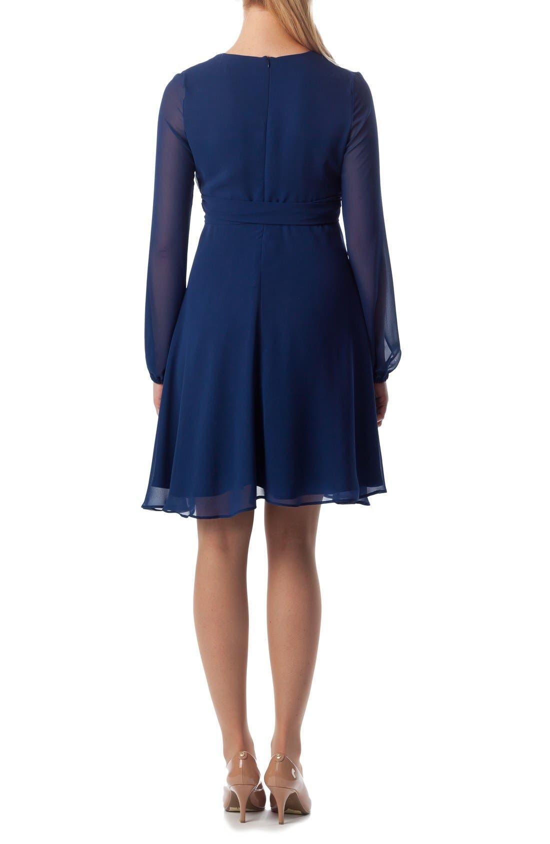 'Bellagio' Maternity Dress,                             Alternate thumbnail 4, color,