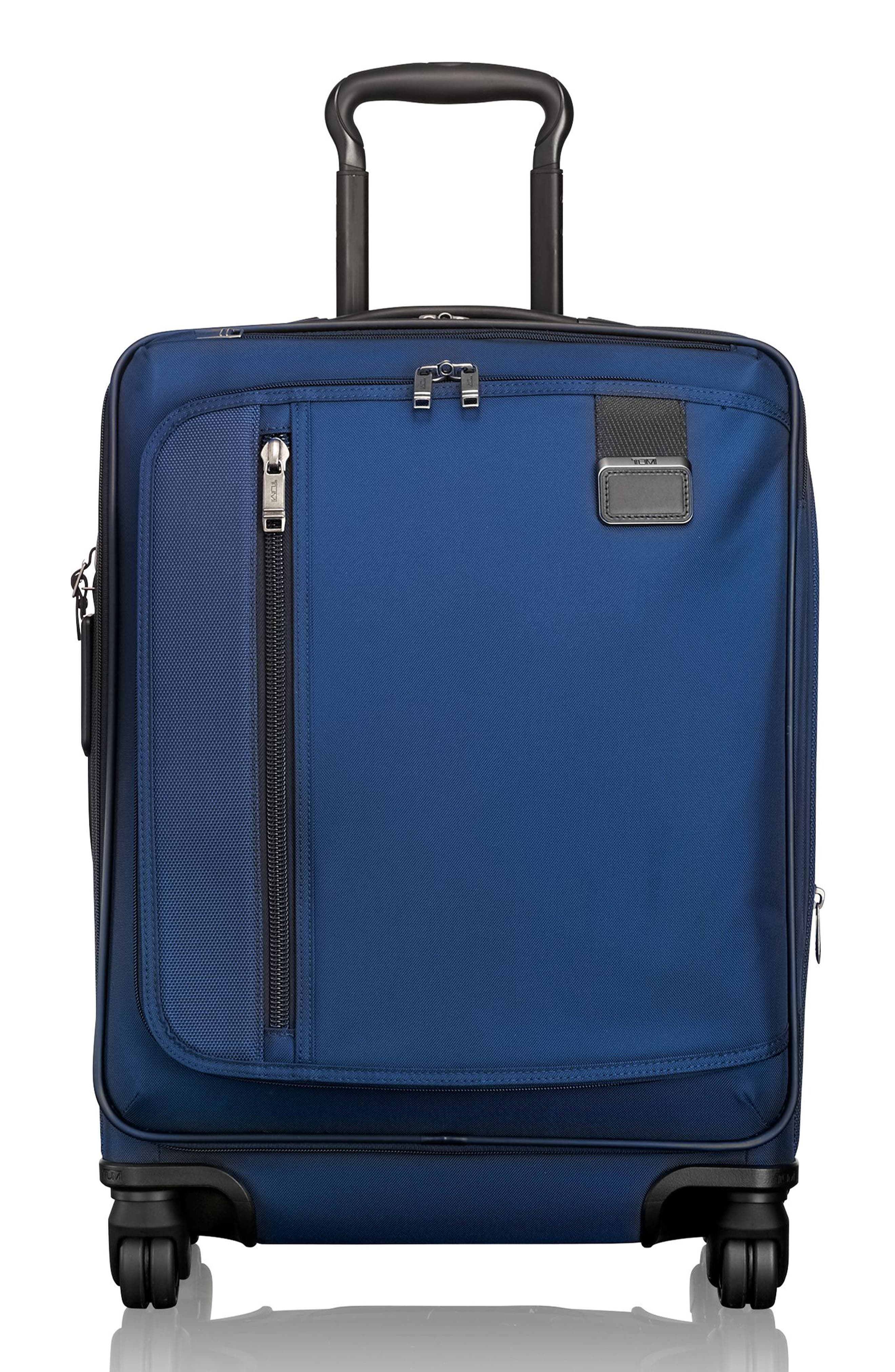 Merge - 22-Inch Continental Expandable Rolling Carry-On,                             Main thumbnail 1, color,                             OCEAN BLUE