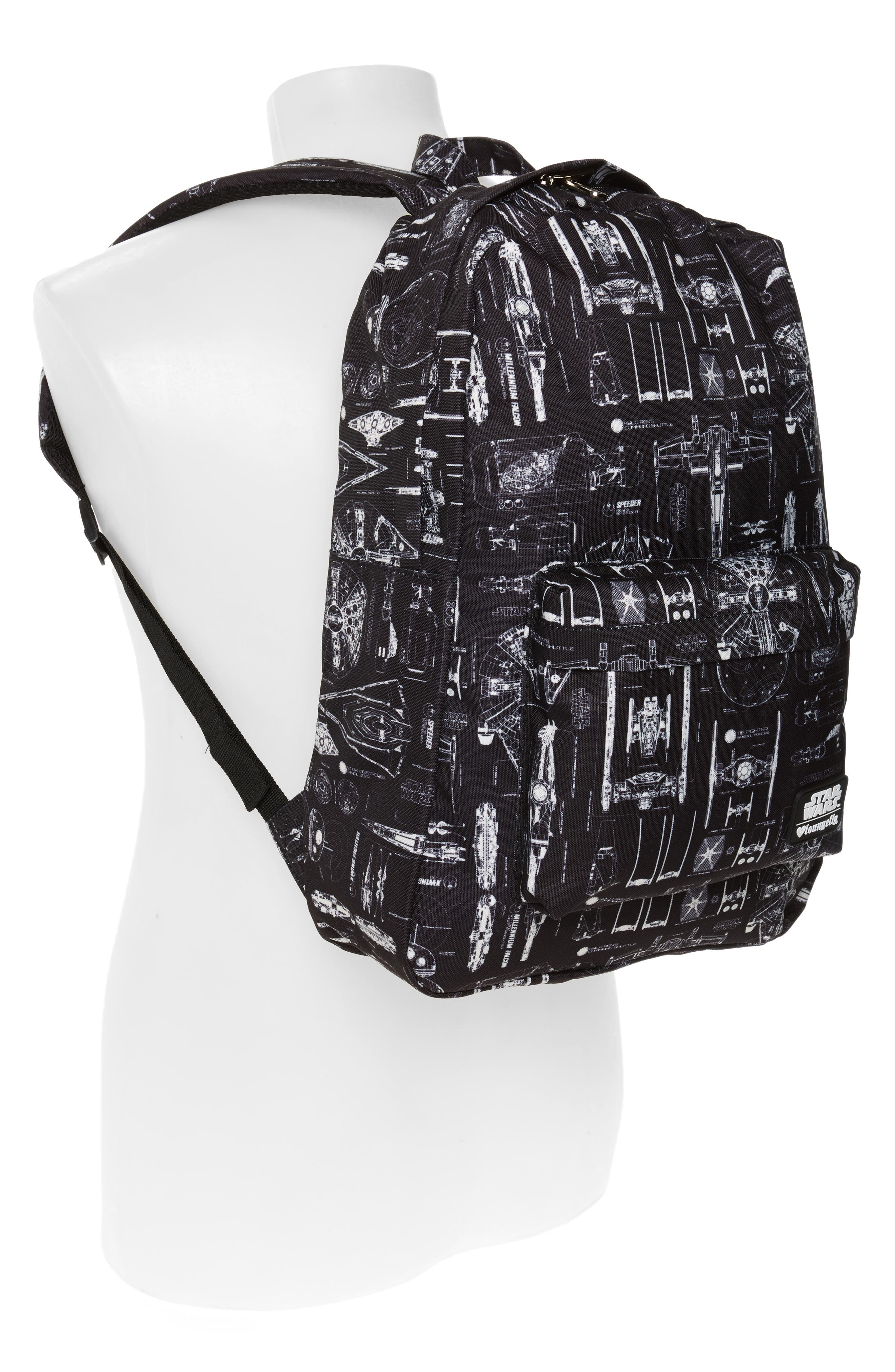Star Wars<sup>™</sup> The Force Awakens Blueprint Backpack,                             Alternate thumbnail 2, color,                             001