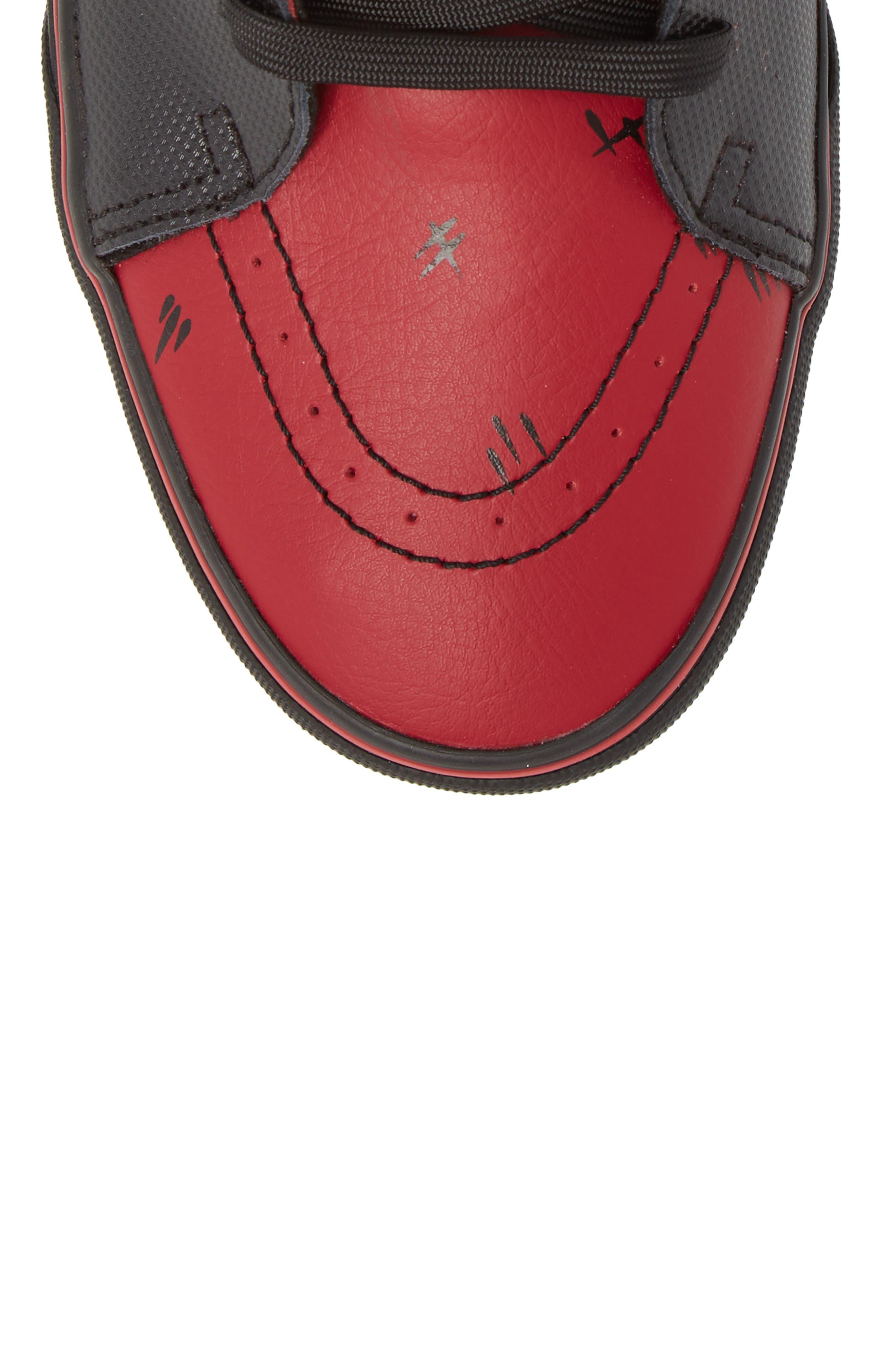 x Marvel<sup>®</sup> UA Sk8-Hi Sneaker,                             Alternate thumbnail 10, color,