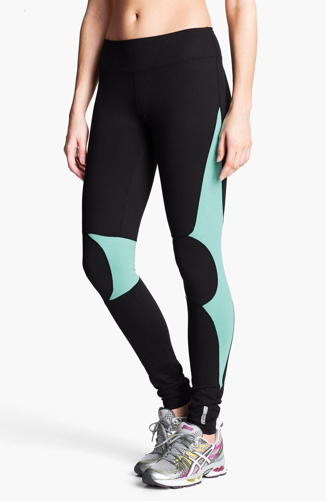 ASICS<SUP>®</SUP> 'Hancox' Leggings, Main, color, 010