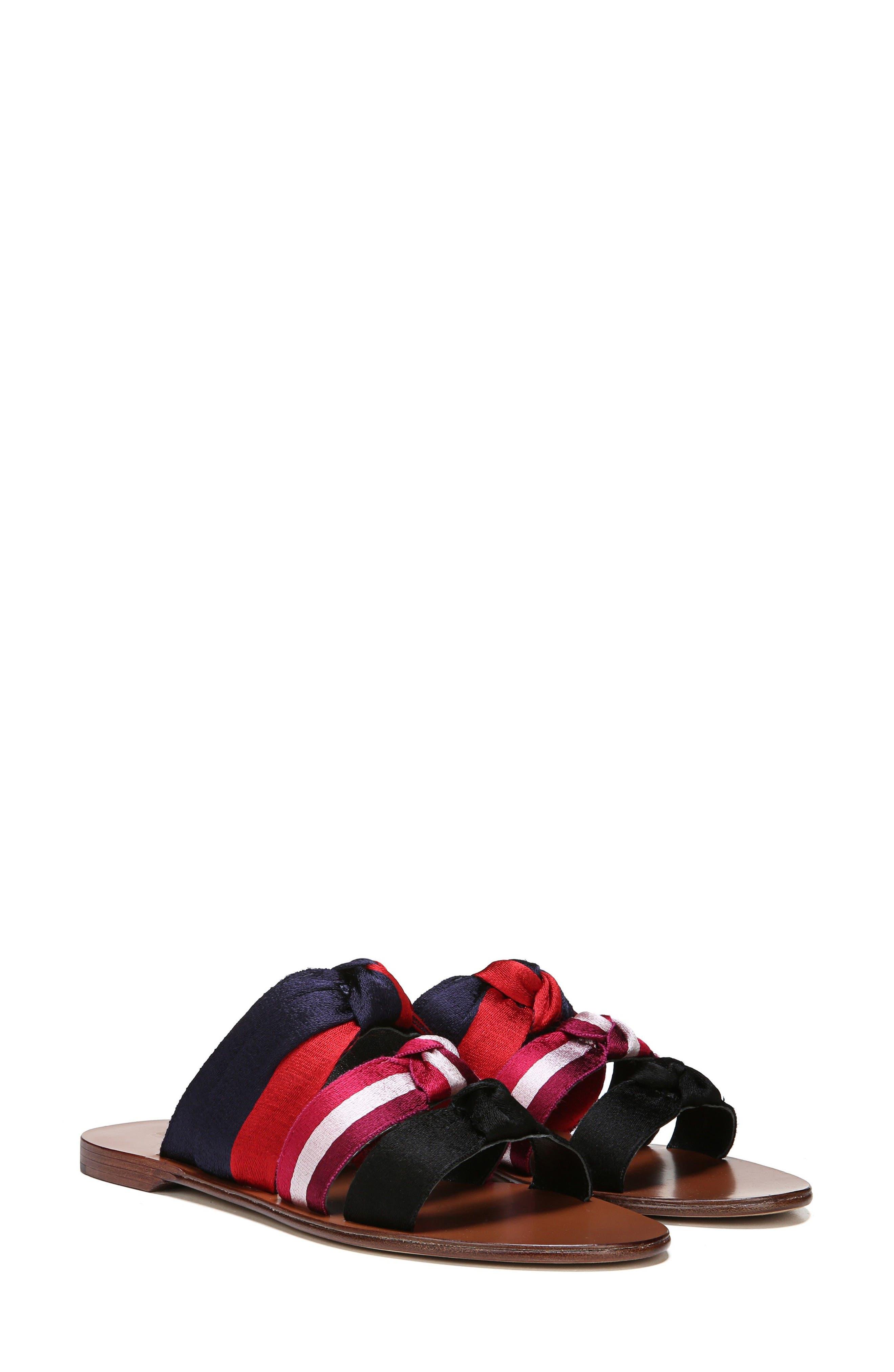 Bree Strappy Slide Sandal,                             Alternate thumbnail 7, color,