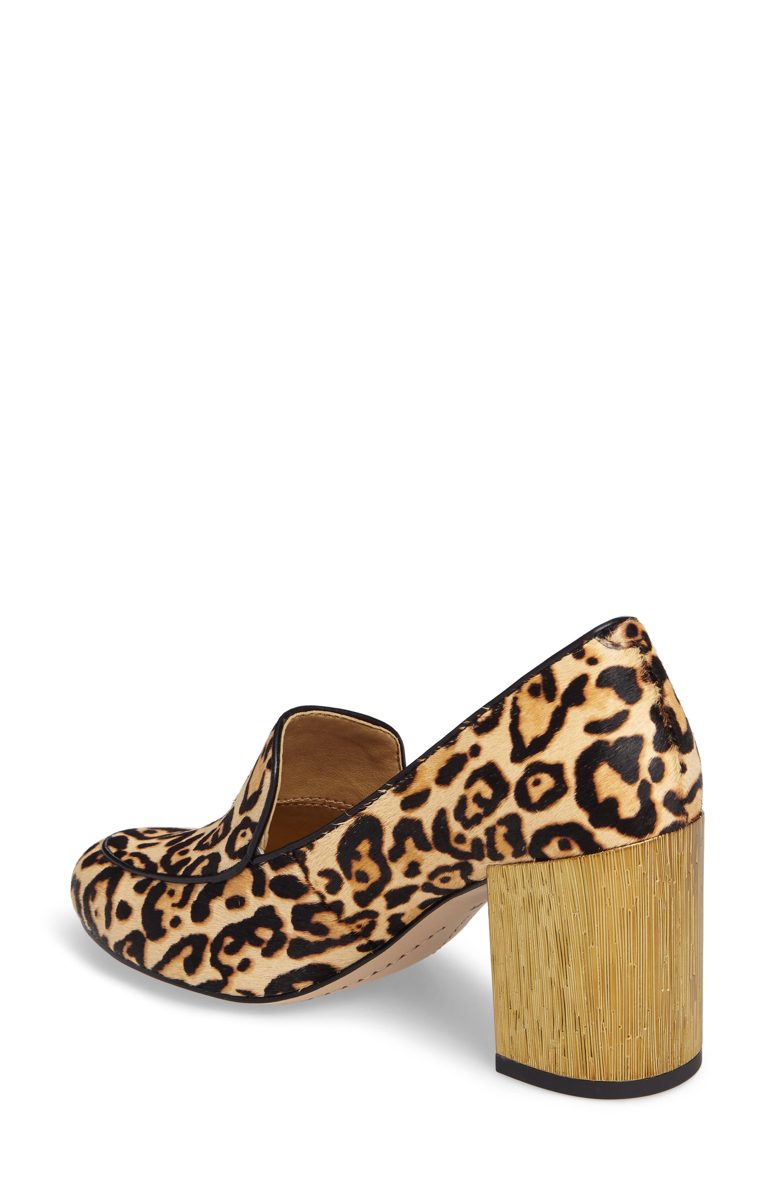 Rosita III Genuine Calf Hair Loafer Pump,                             Alternate thumbnail 2, color,                             200