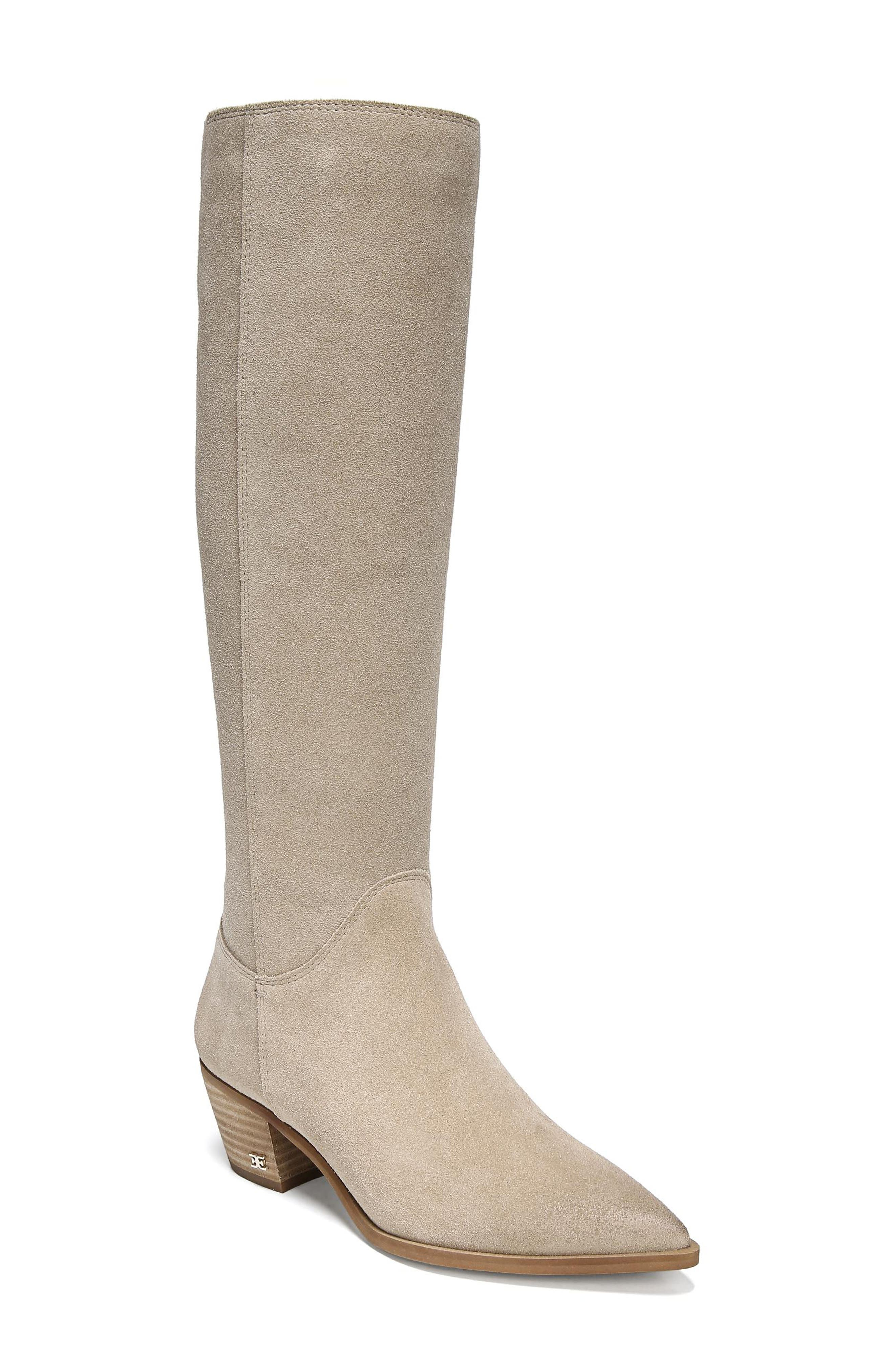 Sam Edelman Rowena Knee High Boot, Beige