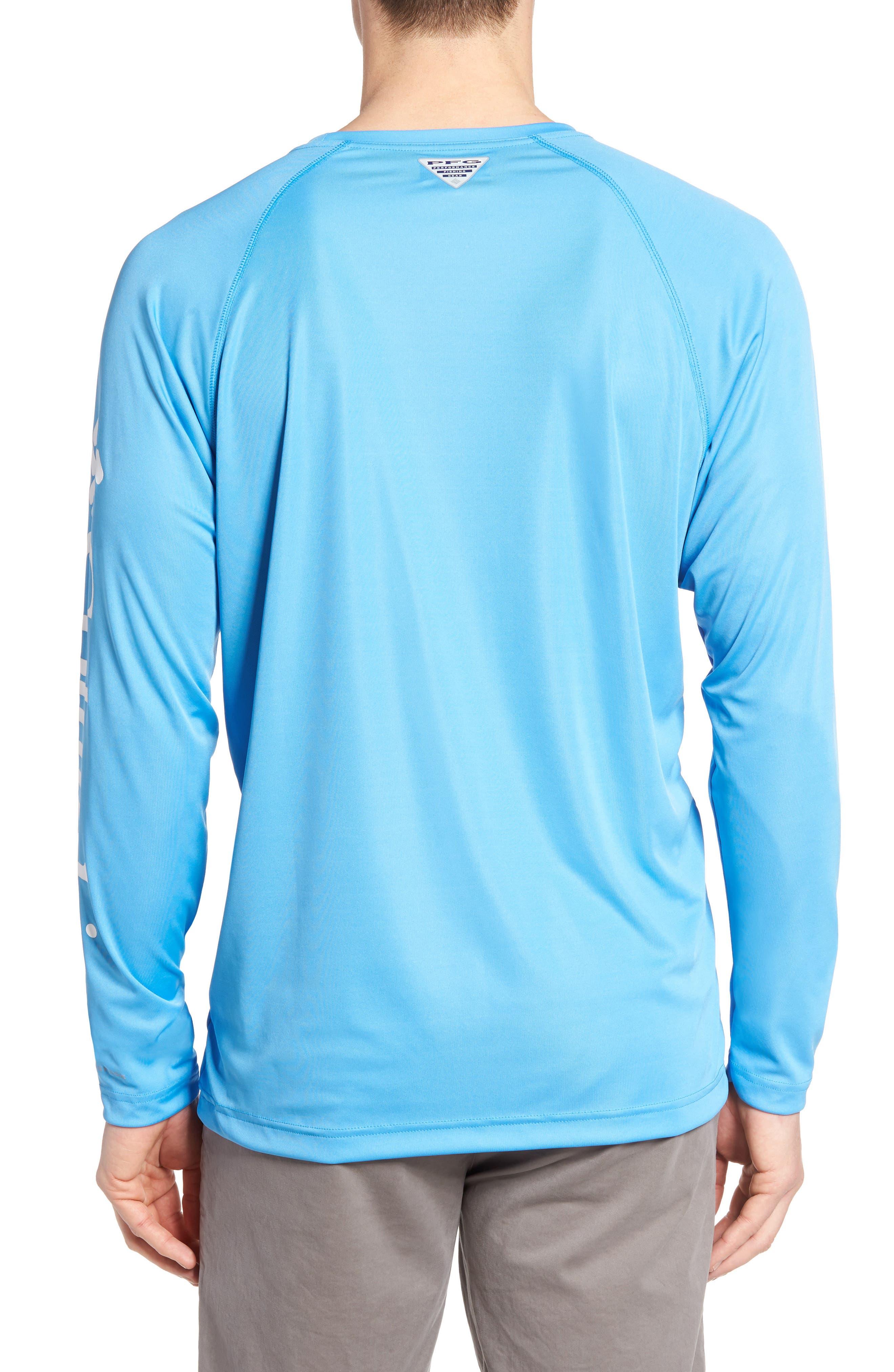 PFG Terminal Tackle Performance Long Sleeve T-Shirt,                             Alternate thumbnail 19, color,