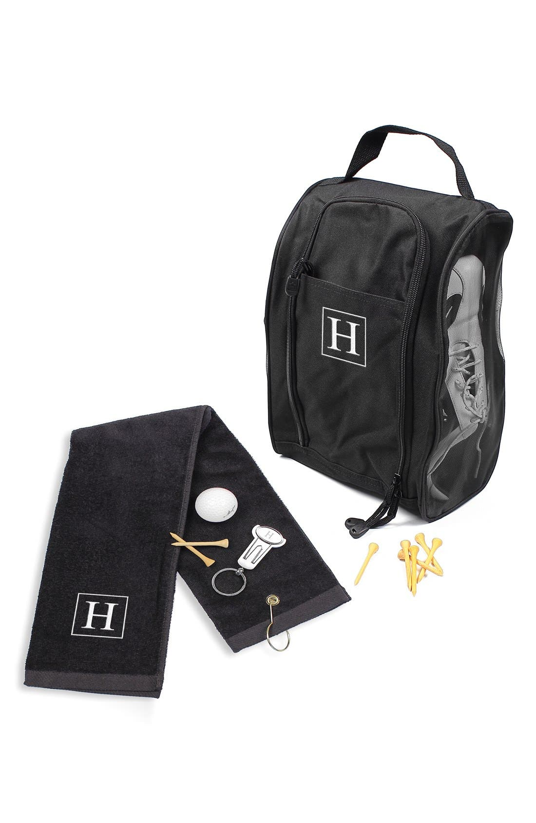 Monogram Golf Set,                         Main,                         color, 009