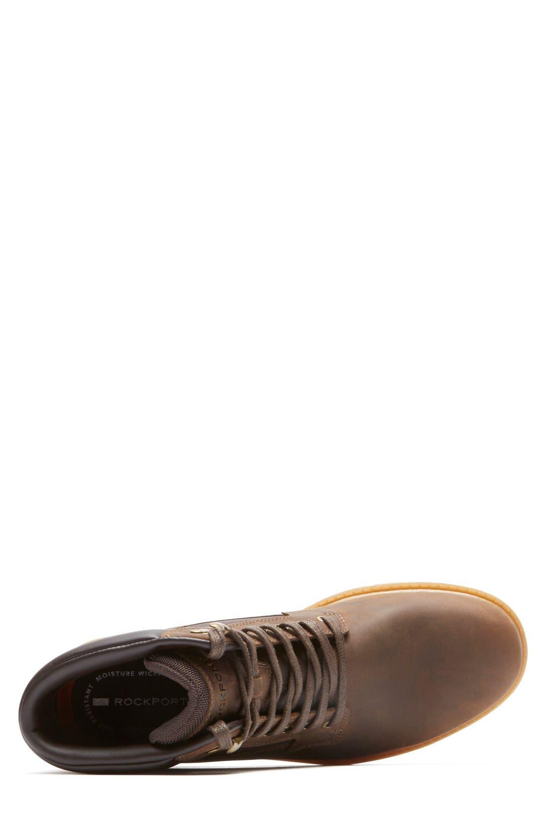 'Rugged Bucks High' Waterproof Boot,                             Alternate thumbnail 4, color,
