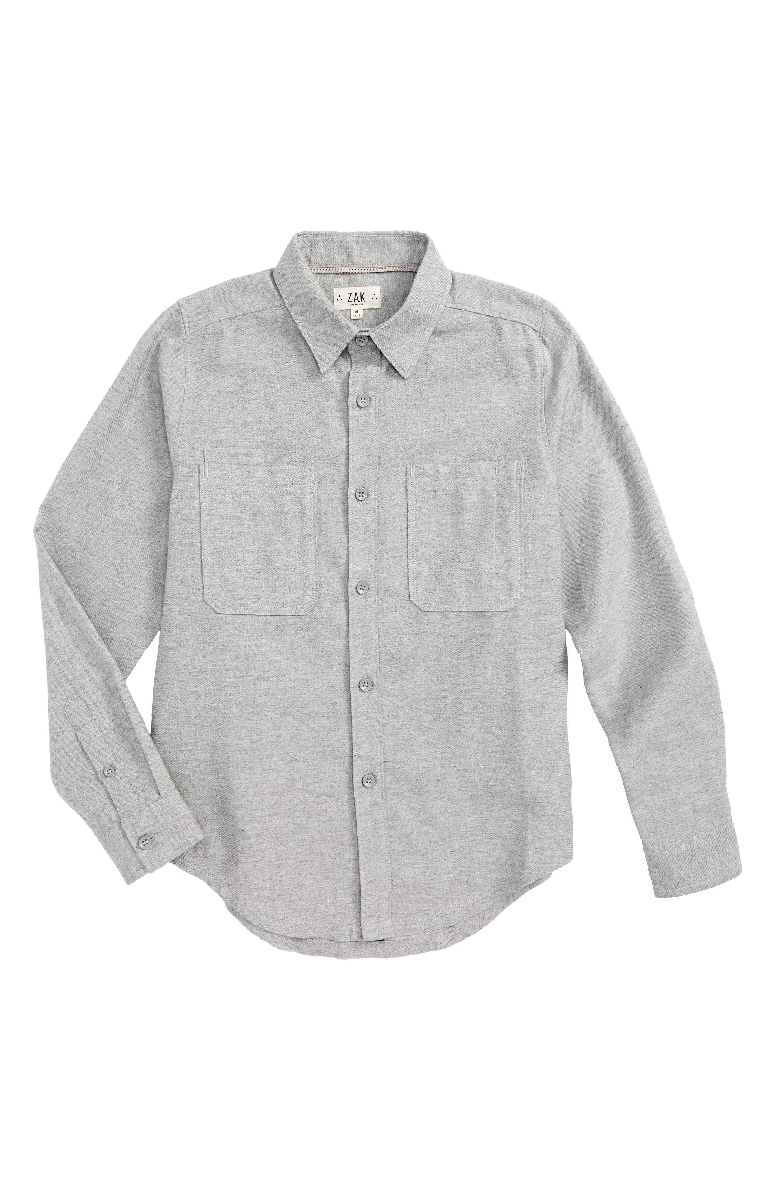 Woven Flannel Shirt,                             Main thumbnail 1, color,                             021