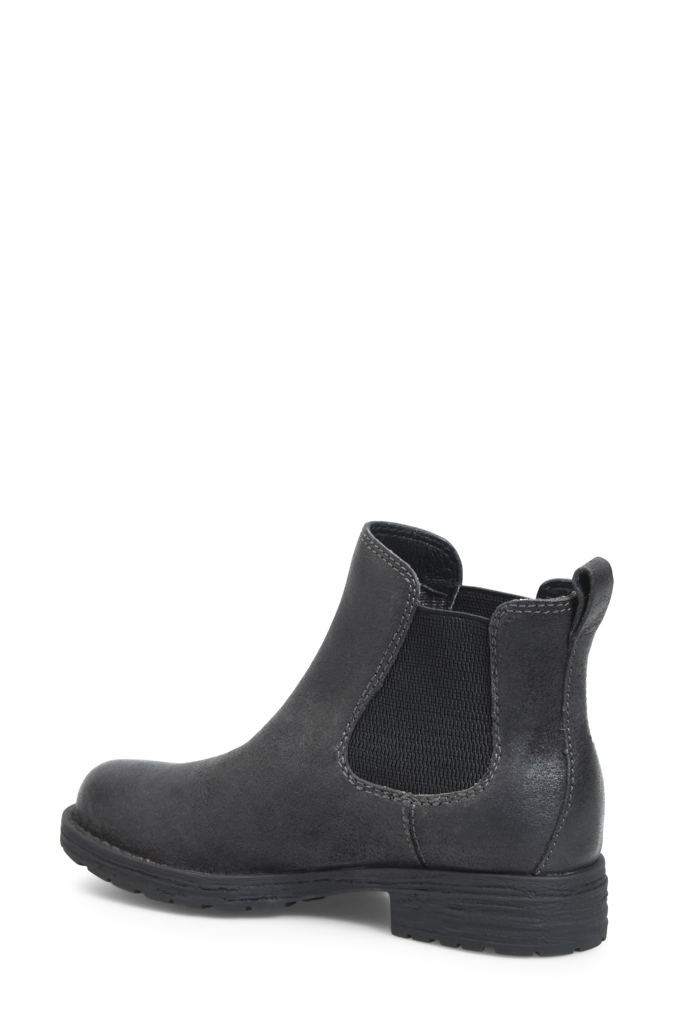 Cove Waterproof Chelsea Boot,                             Alternate thumbnail 2, color,                             DARK GREY DISTRESSED LEATHER