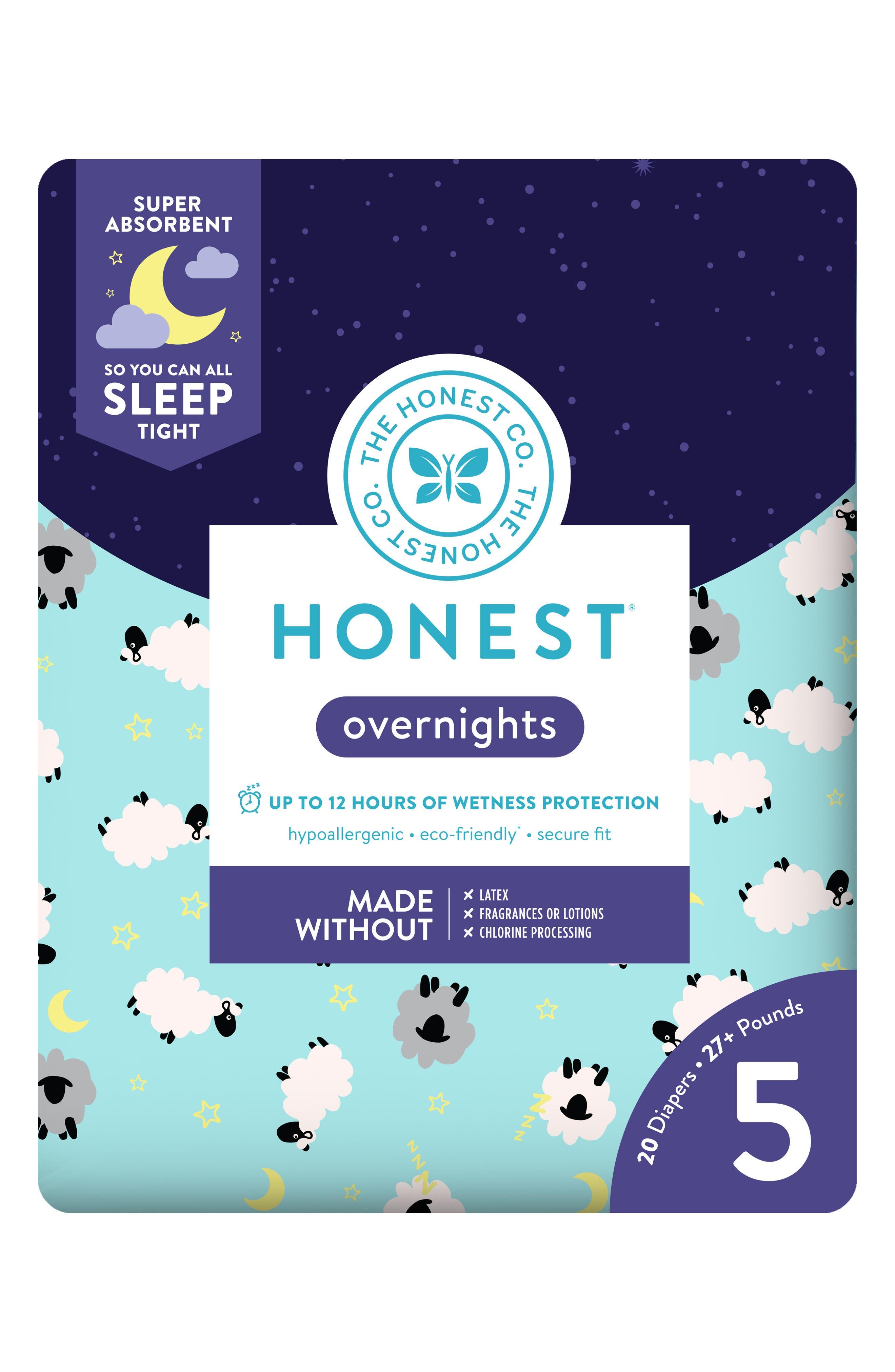Sleepy Sheep Overnight Diapers,                             Alternate thumbnail 5, color,                             SLEEPY SHEEP