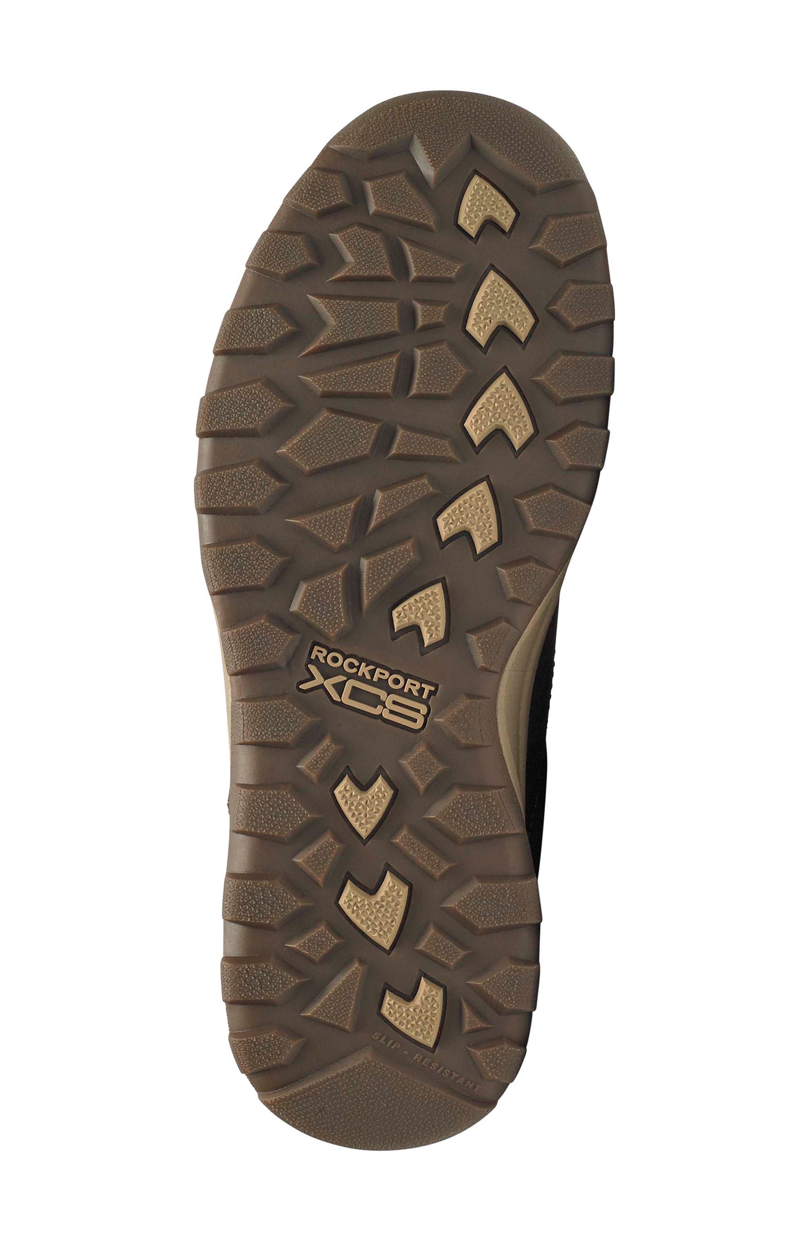 Harlee Waterproof Sneaker,                             Alternate thumbnail 6, color,                             TAN LEATHER