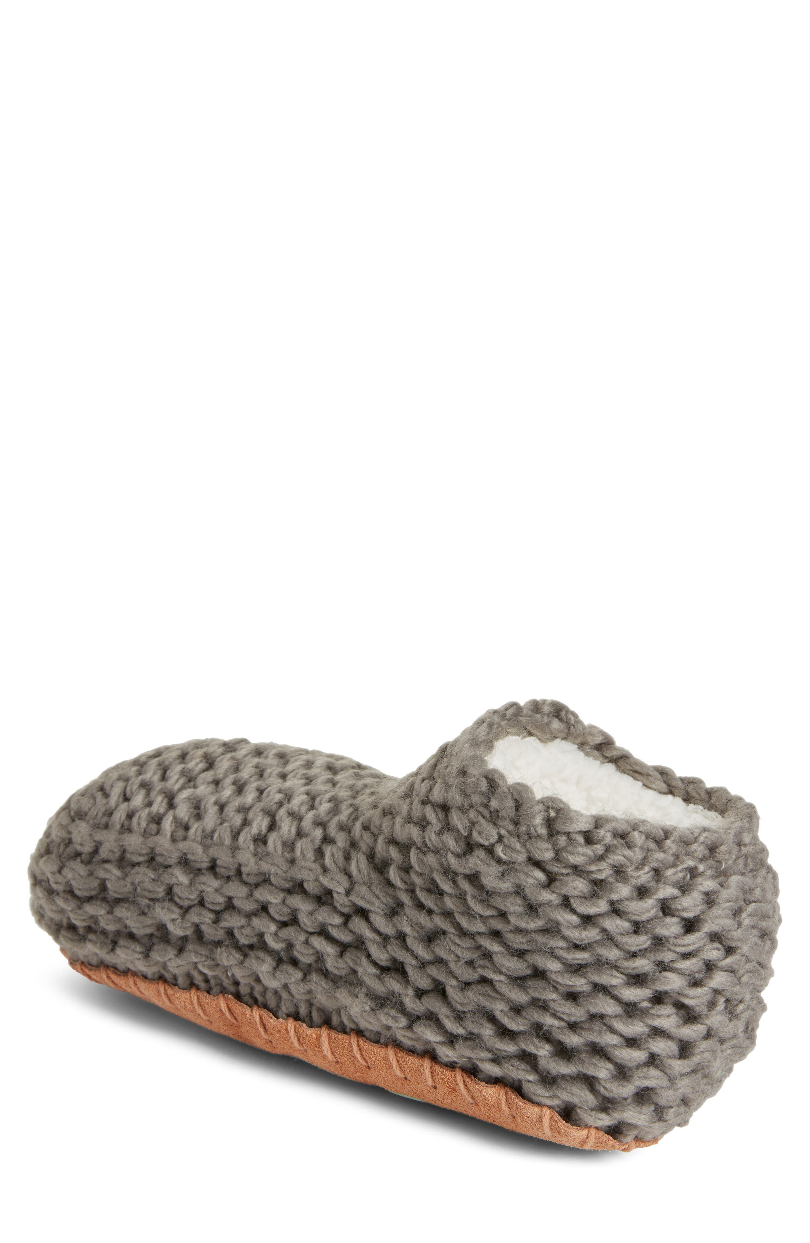 Knit Slipper Bootie,                             Alternate thumbnail 2, color,                             020