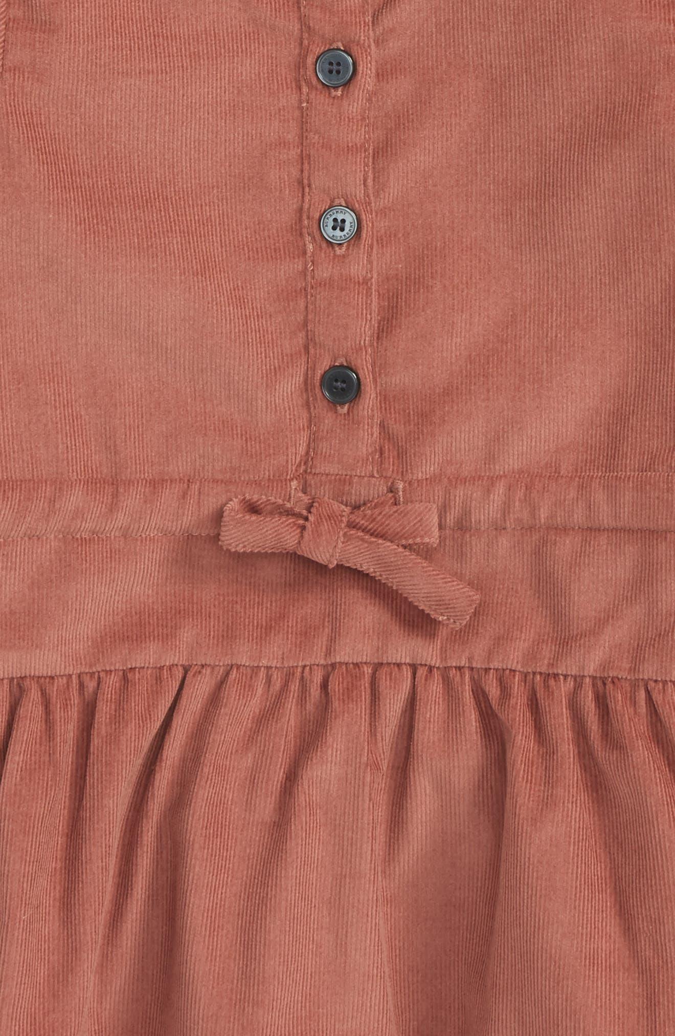 Mini Celestine Corduroy Dress,                             Alternate thumbnail 2, color,                             650