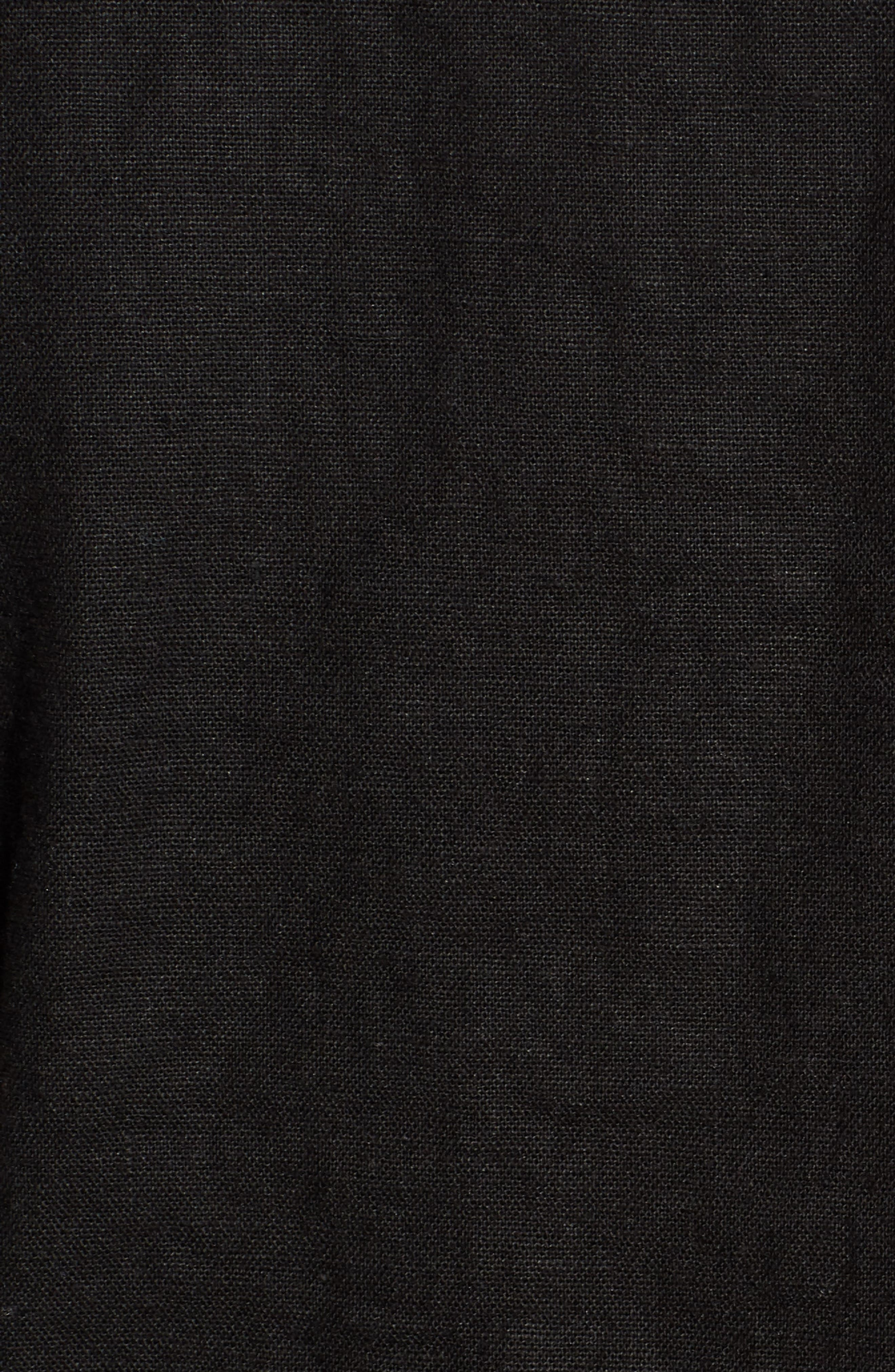 Linen Blend Zip Jacket,                             Alternate thumbnail 6, color,
