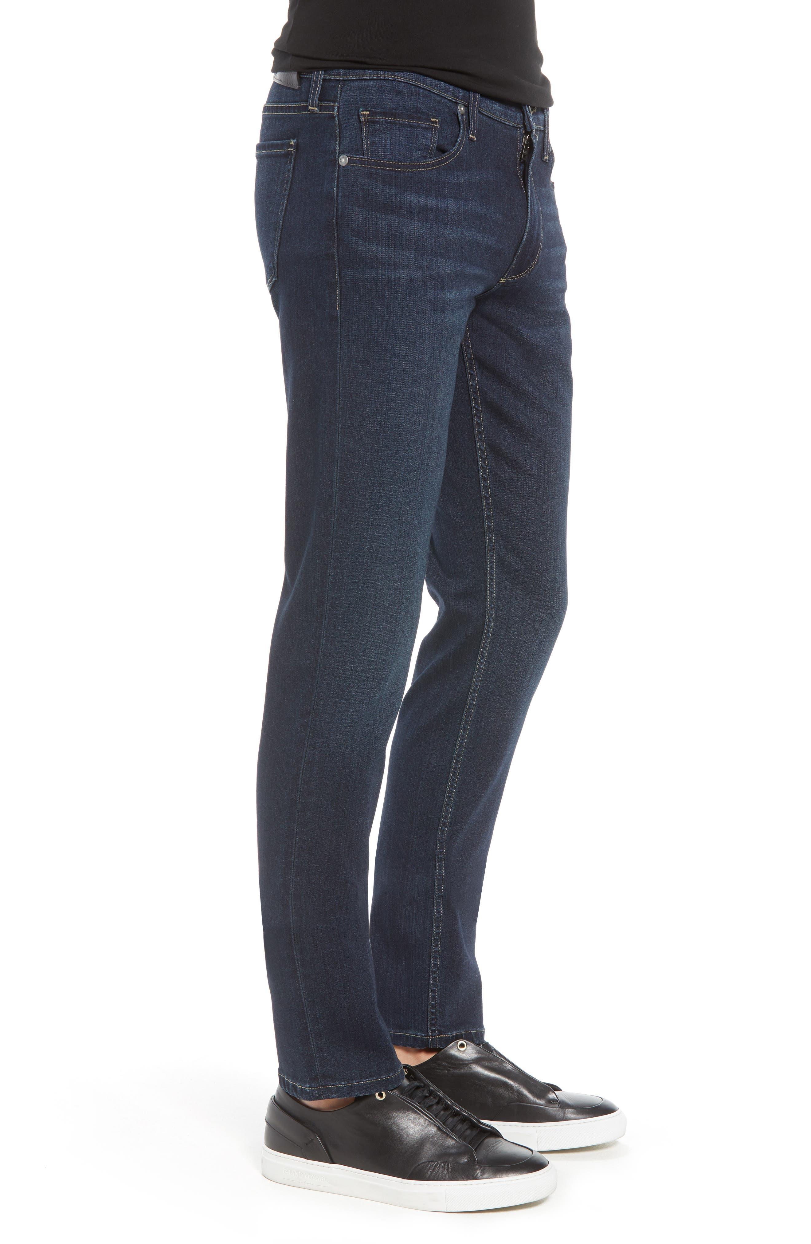 Transcend – Lennox Slim Fit Jeans,                             Alternate thumbnail 3, color,                             HALE