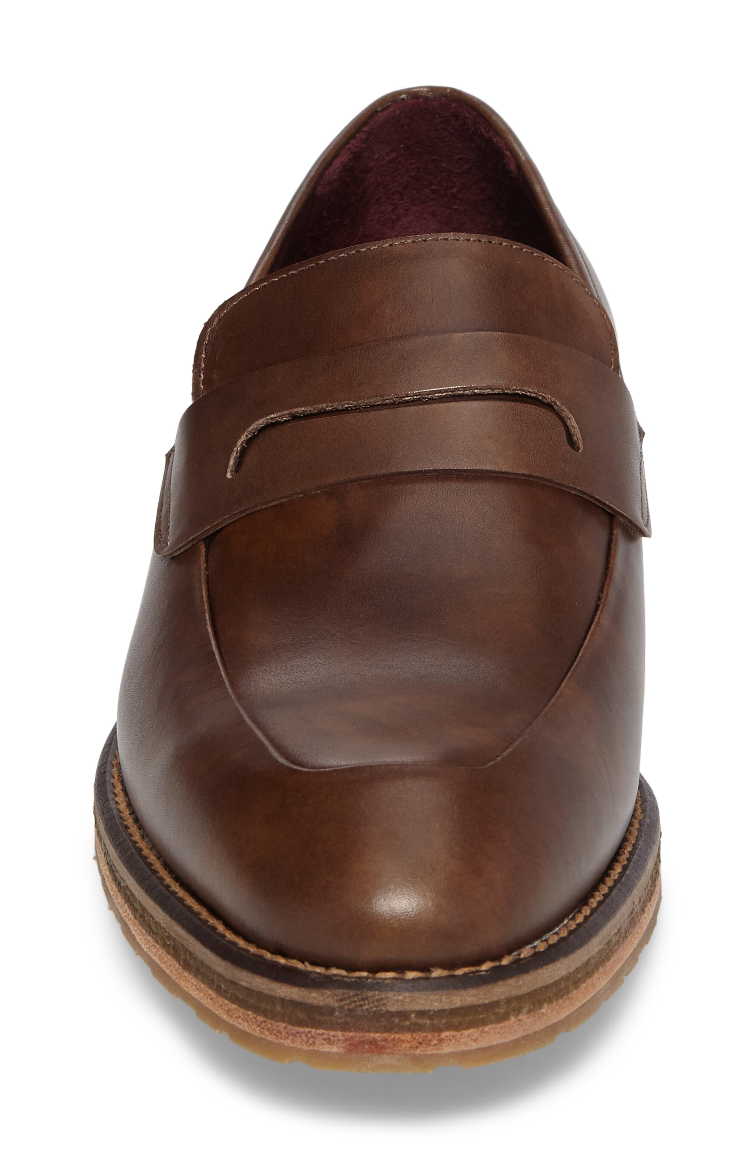 Cantonia Penny Loafer,                             Alternate thumbnail 4, color,