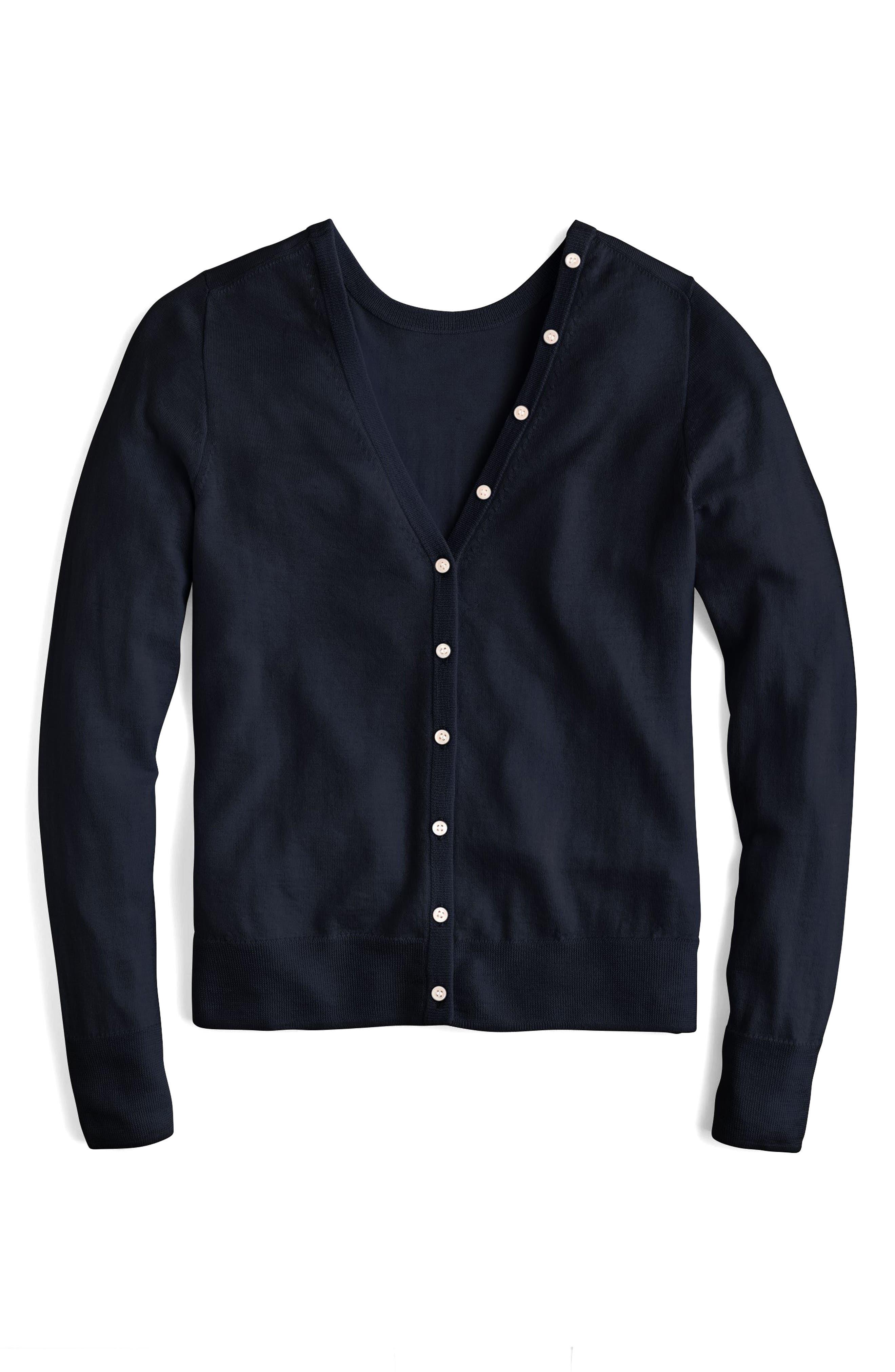 Reversible Button Back Sweater,                             Main thumbnail 1, color,