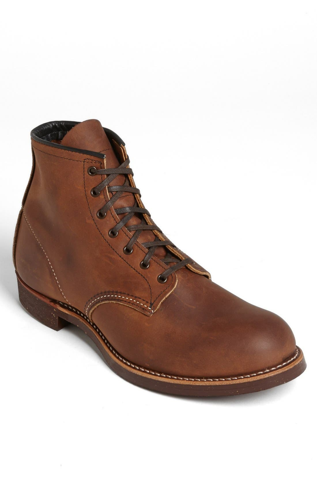 RED WING,                             6 Inch Round Toe Boot,                             Main thumbnail 1, color,                             208