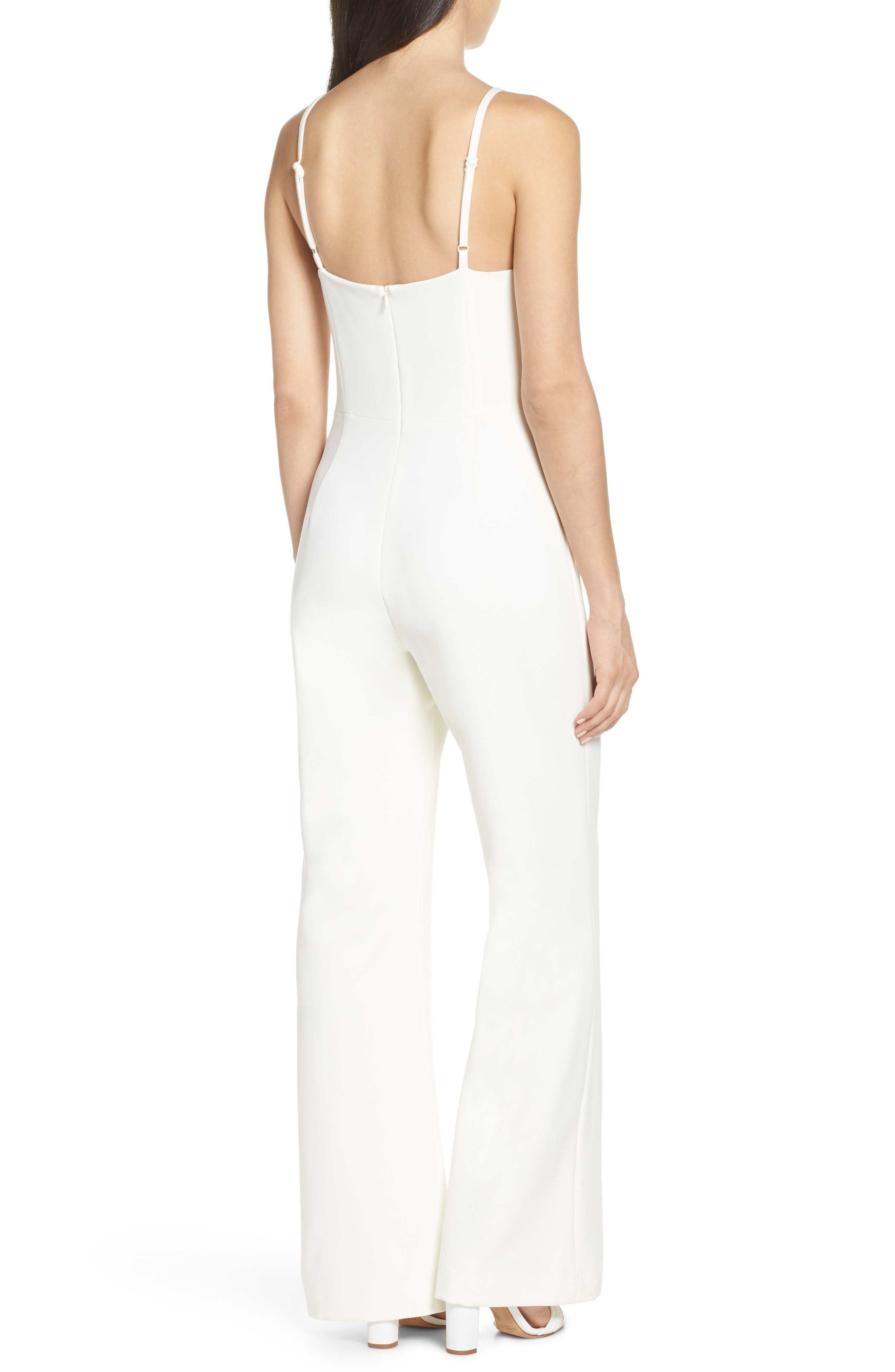 Whisper Halter Neck Jumpsuit,                             Alternate thumbnail 2, color,                             107