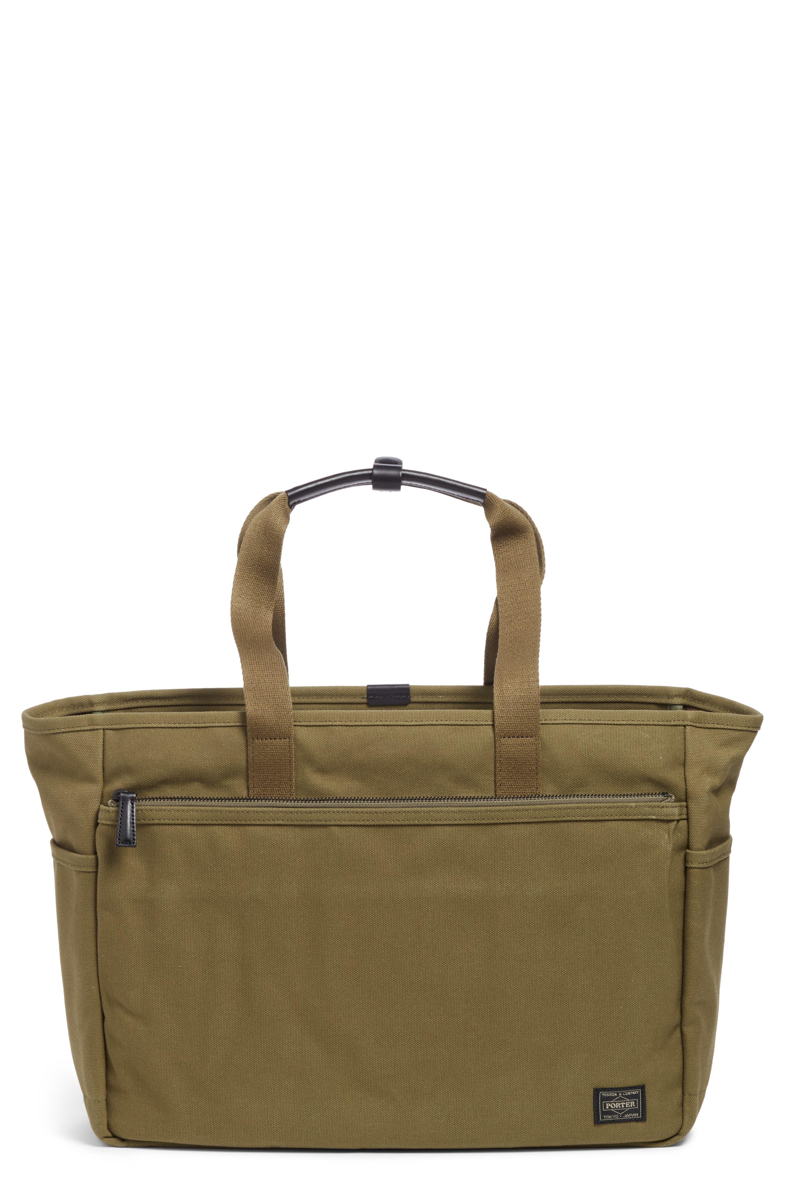 x Porter Travel Tote Bag,                             Main thumbnail 1, color,                             OLIVE