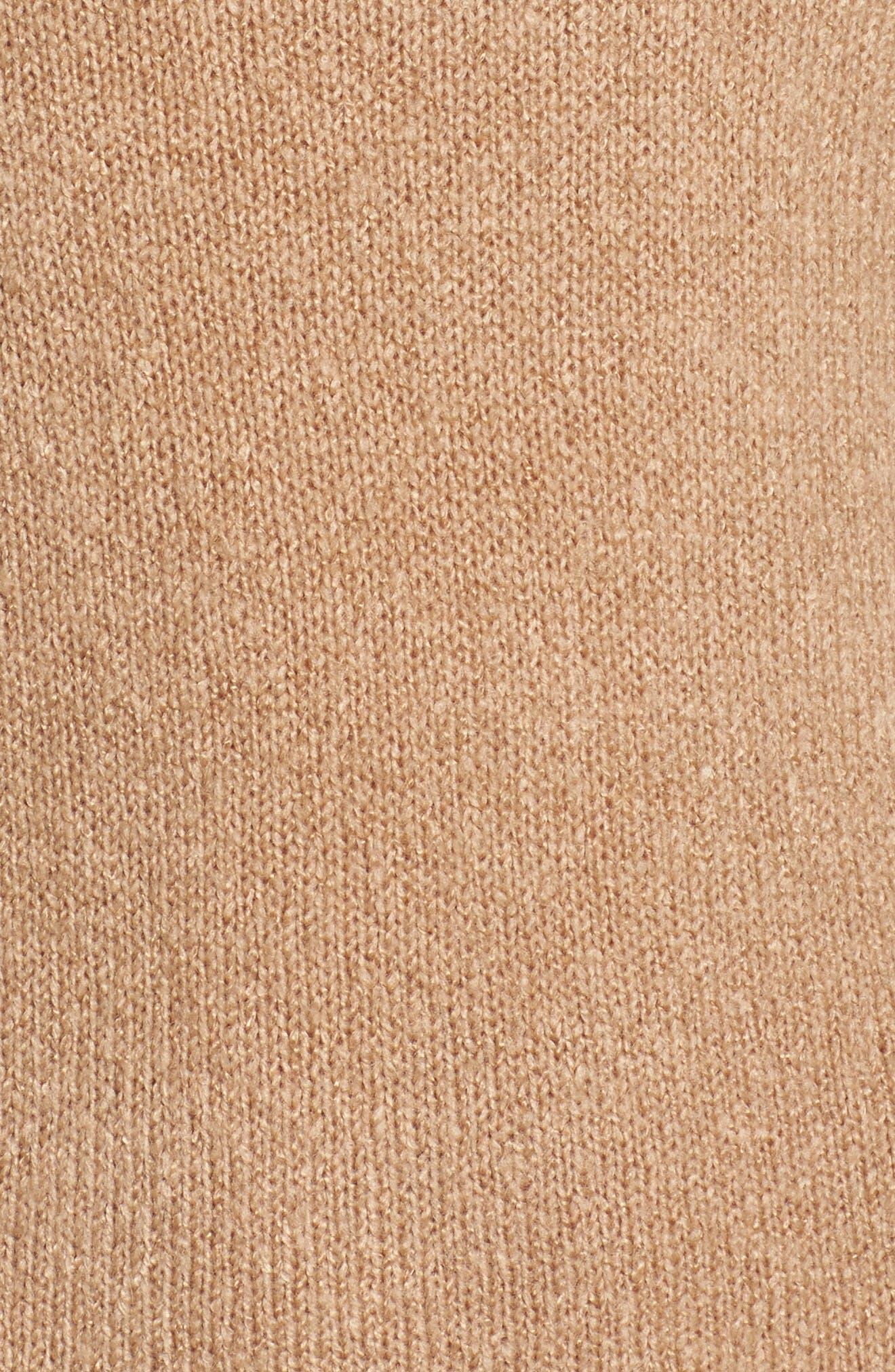Bell Sleeve Knit Dress,                             Alternate thumbnail 5, color,                             208